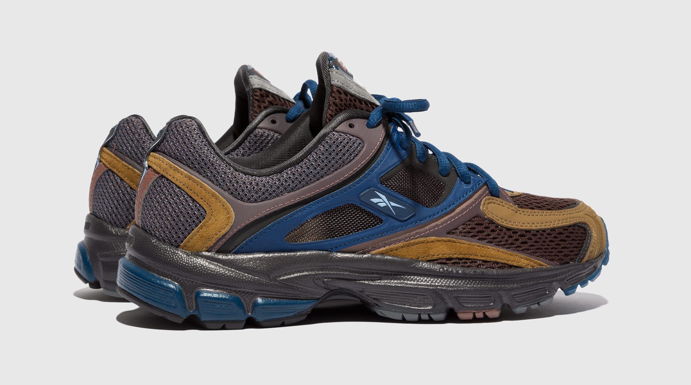 Packer Shoes x Reebok Trinity Premier Brown FY3408 Side
