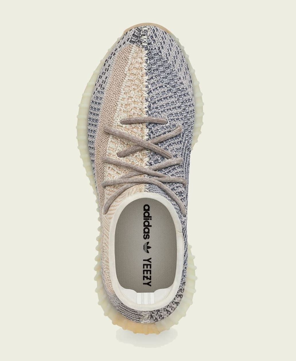 Adidas Yeezy Boost 350 V2 'Ash Pearl' GY7658 Top