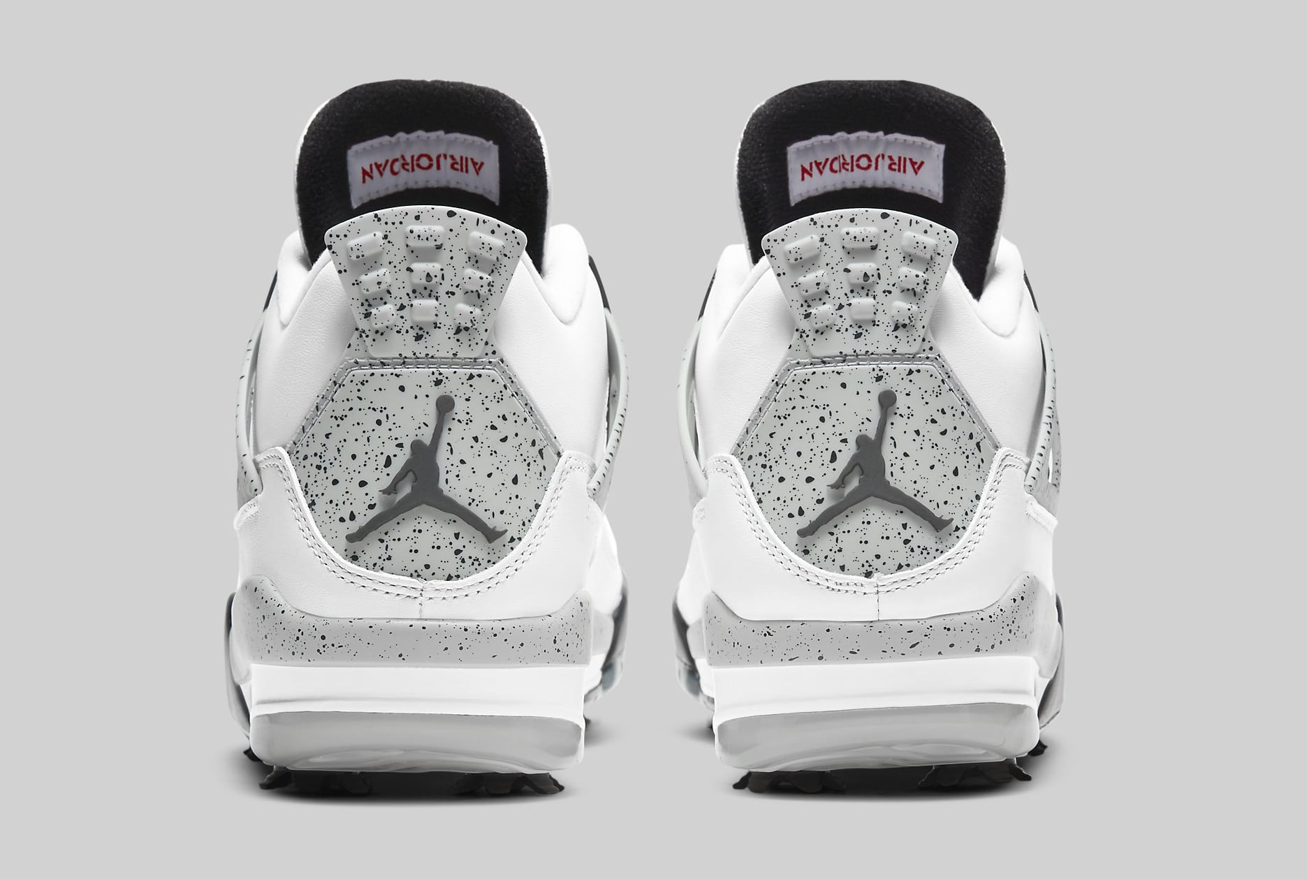 Air Jordan 4 Golf 'White Cement' CU9981-100 Heel