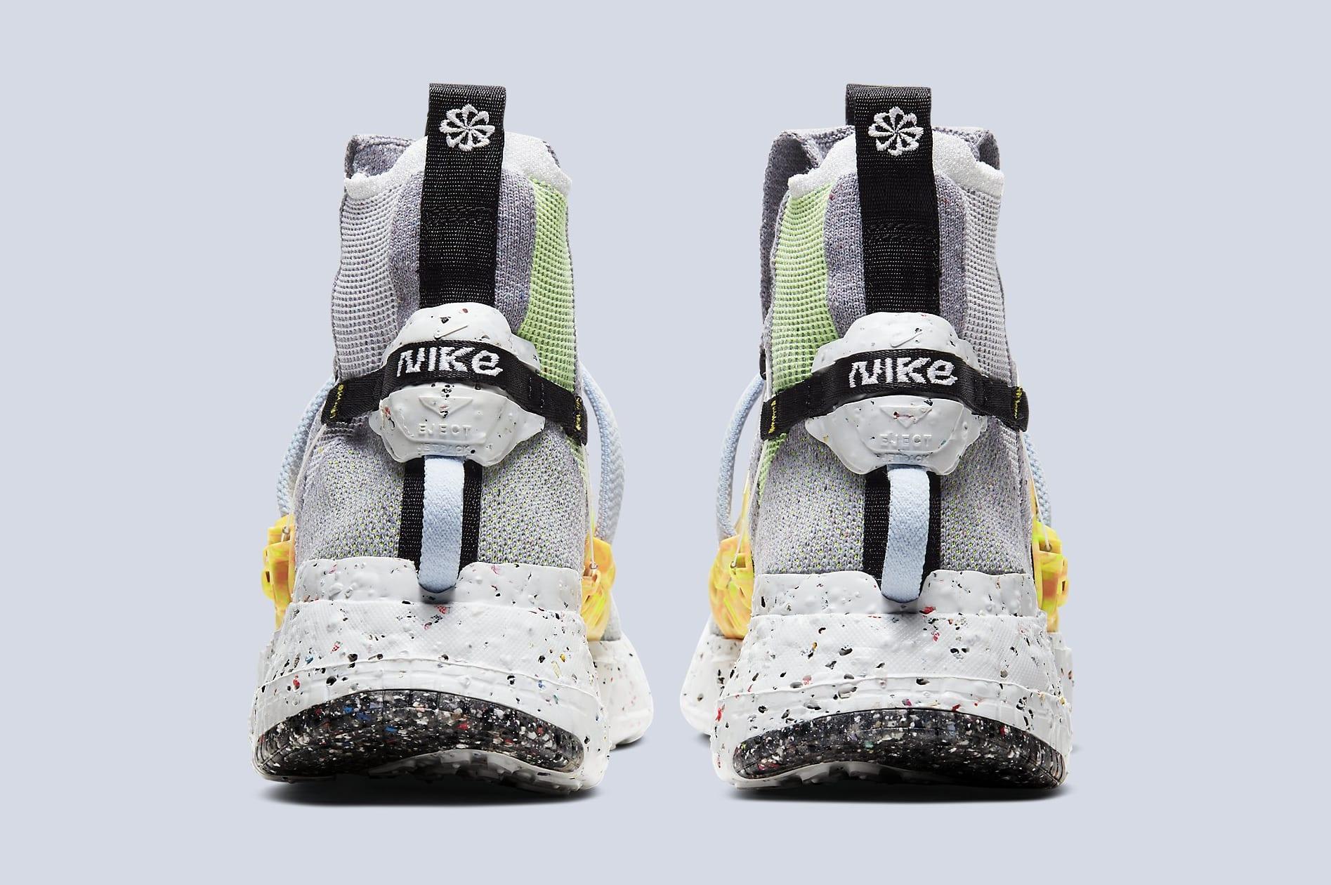 Nike Space Hippie 03 'Grey/Volt' CQ3989-002 Heel