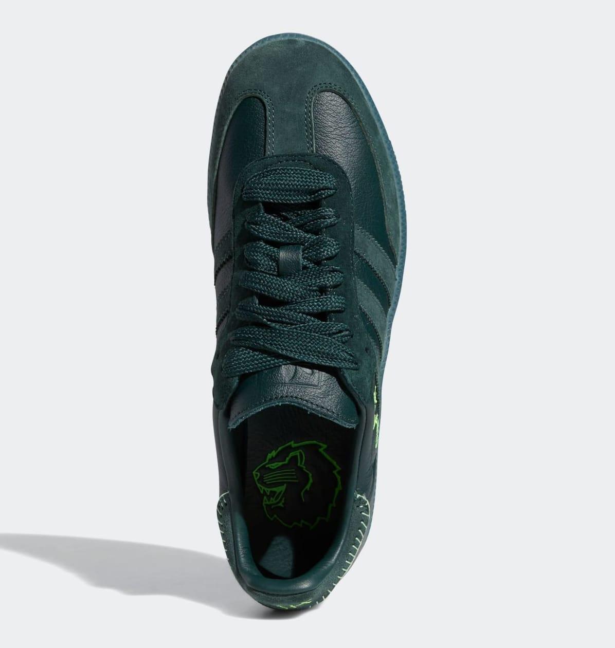 Jonah Hill x Adidas Samba 'Green' FW7458 Top