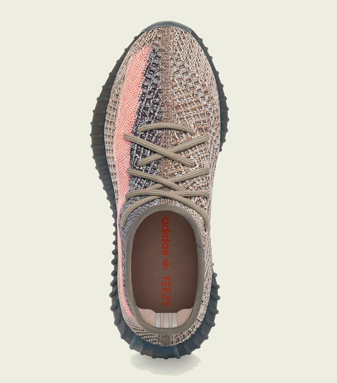Adidas Yeezy Boost 350 V2 'Ash Stone' GW0089 Top