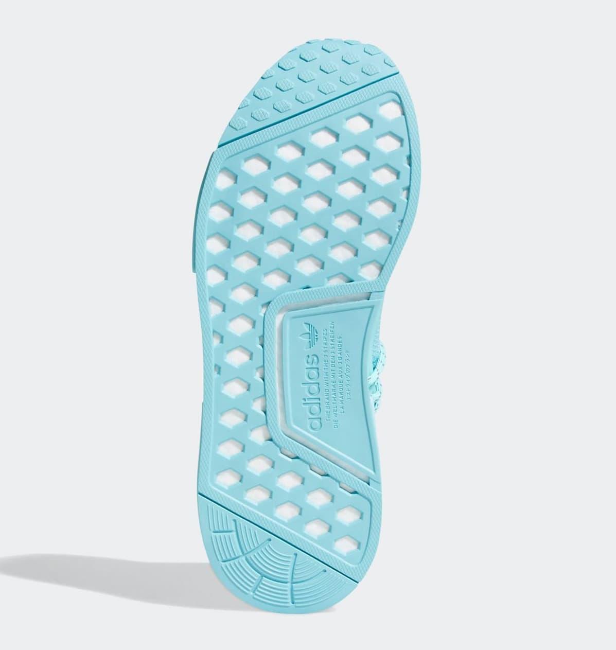 Pharrell Adidas NMD Hu 'Aqua' GY0094 Outsole