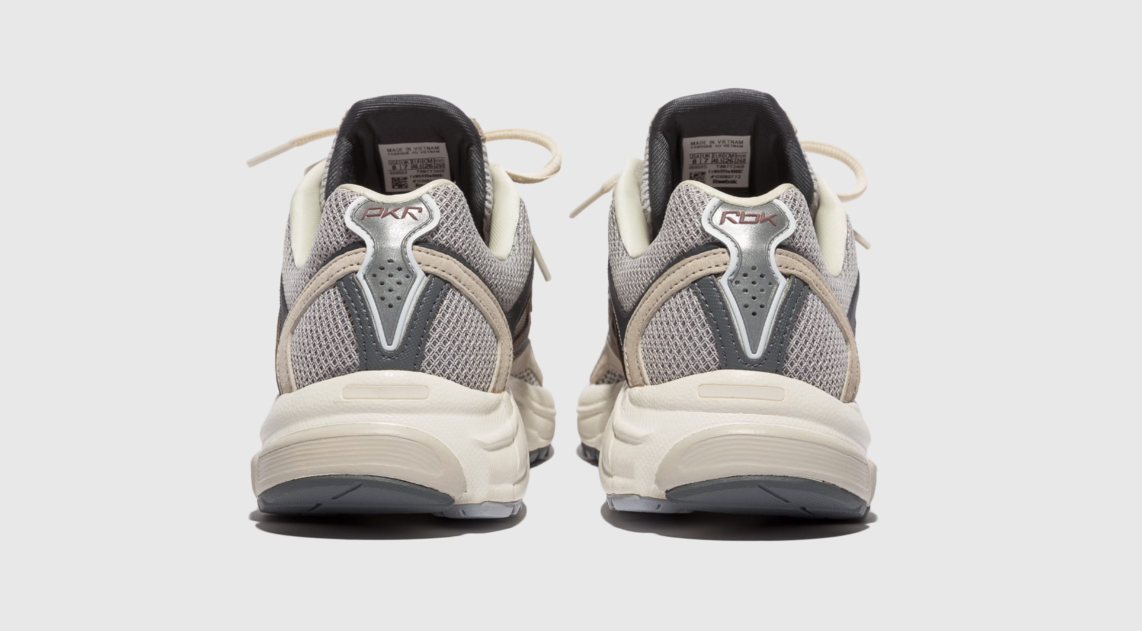Packer Shoes x Reebok Trinity Premier Cream FY3409 Heel