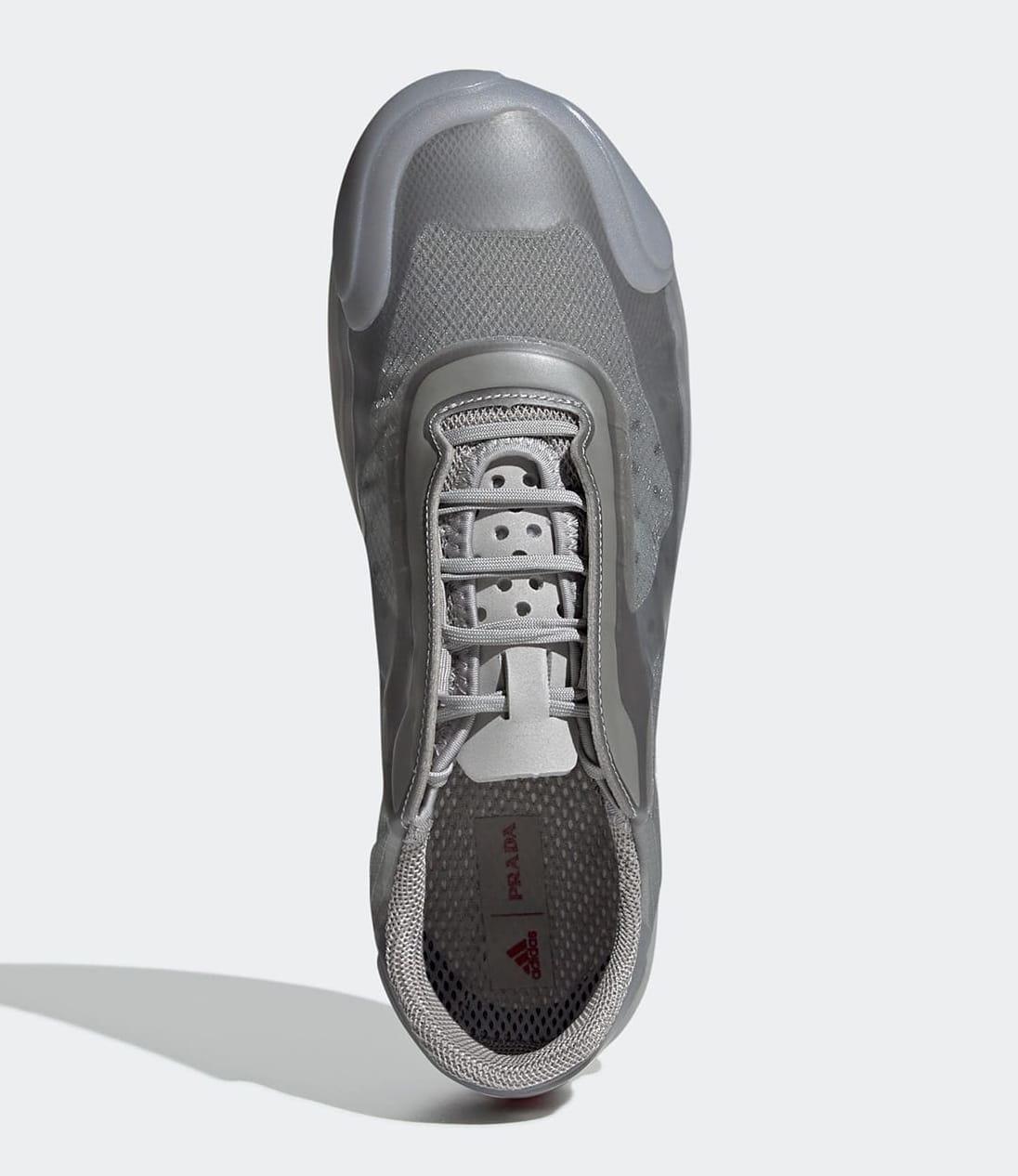 Prada x Adidas Luna Rossa 21 Grey FW1079 Top