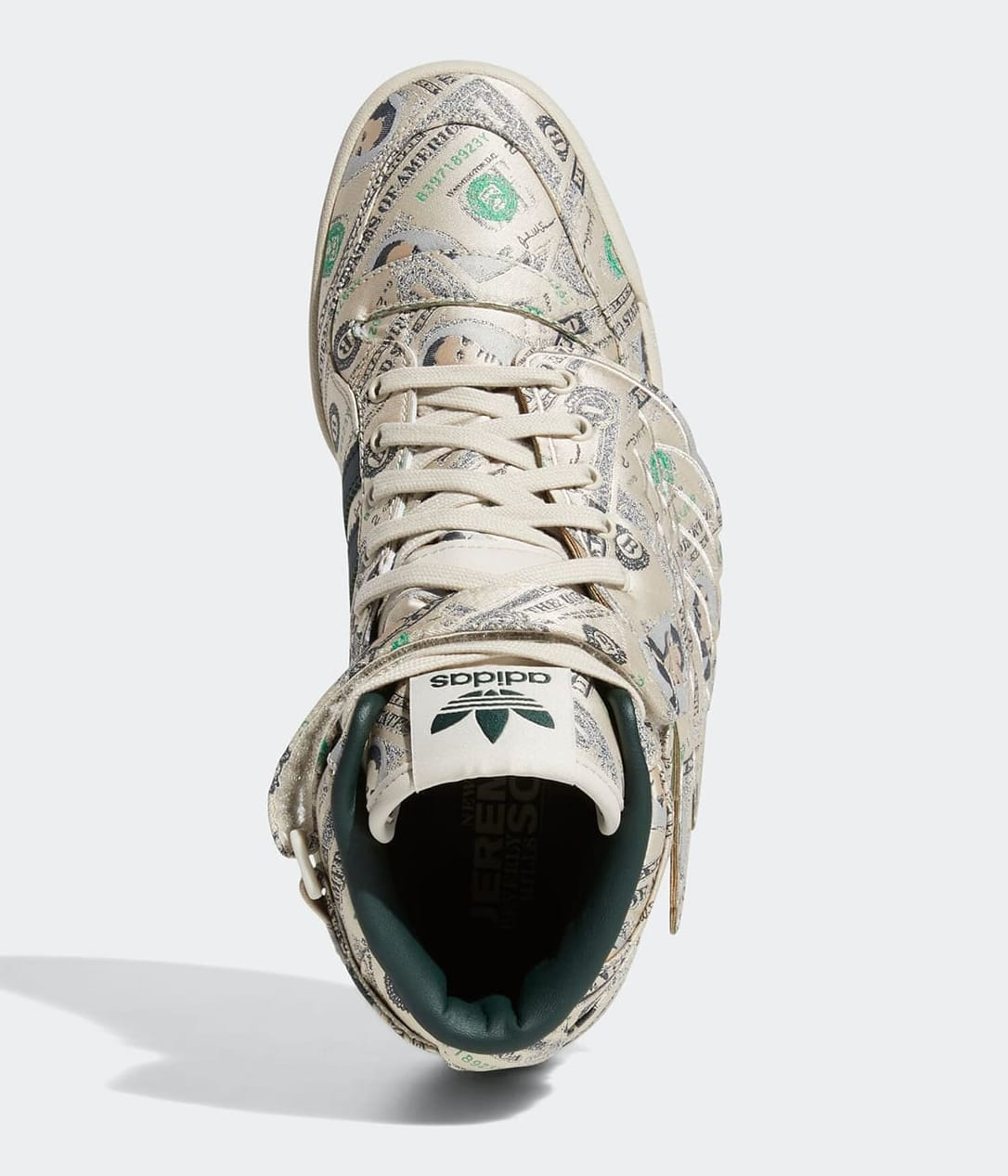 Jeremy Scott x Adidas Forum High Wings 'Money' Q46154 Top