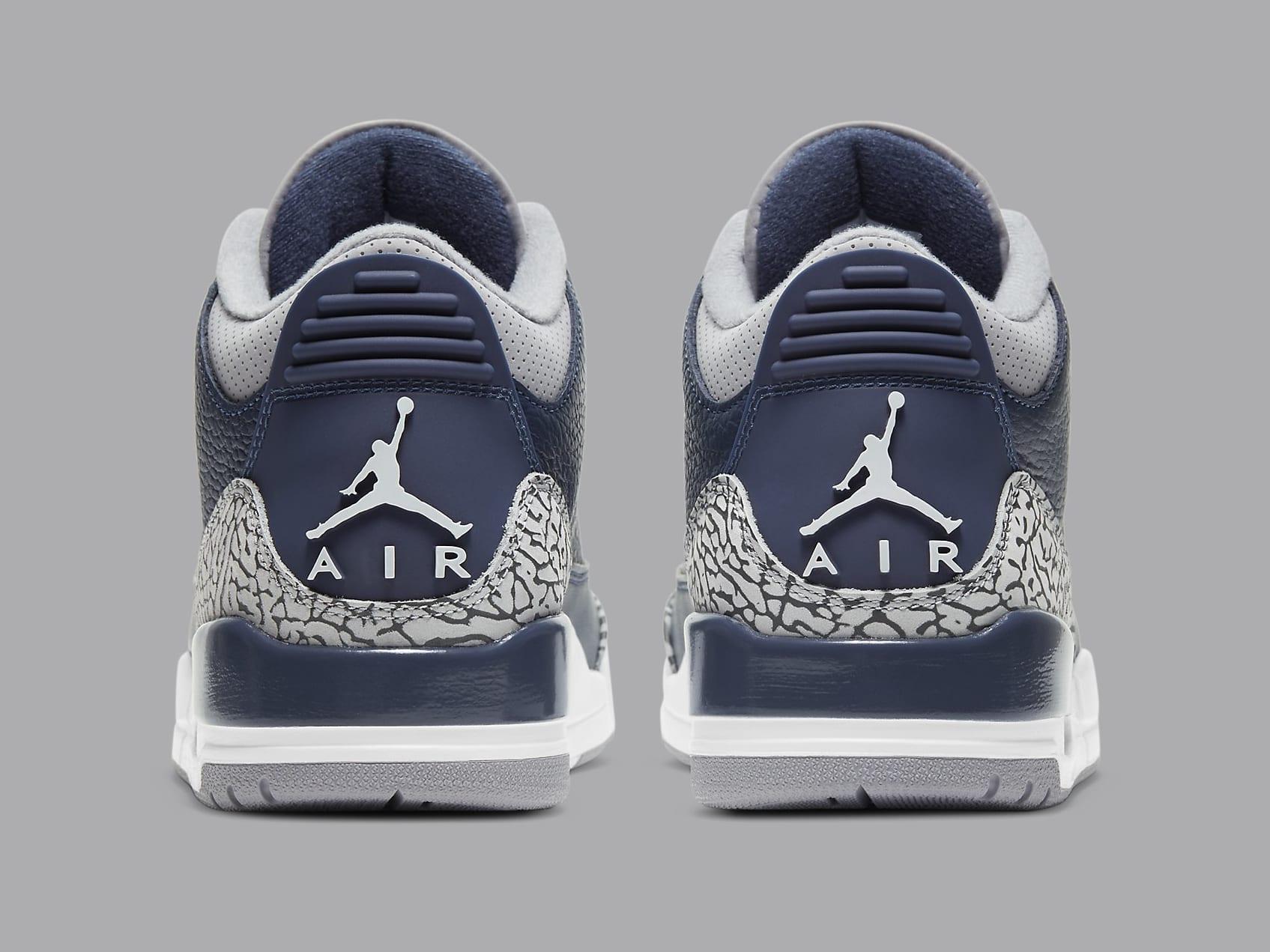 Air Jordan 3 Midnight Navy Release Date CT8532-401 Heel