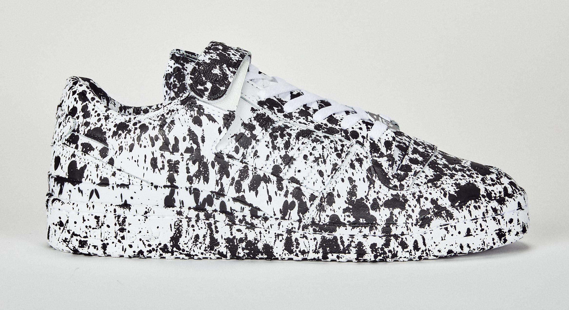 Lucien Smith Adidas Forum Low Custom Medial