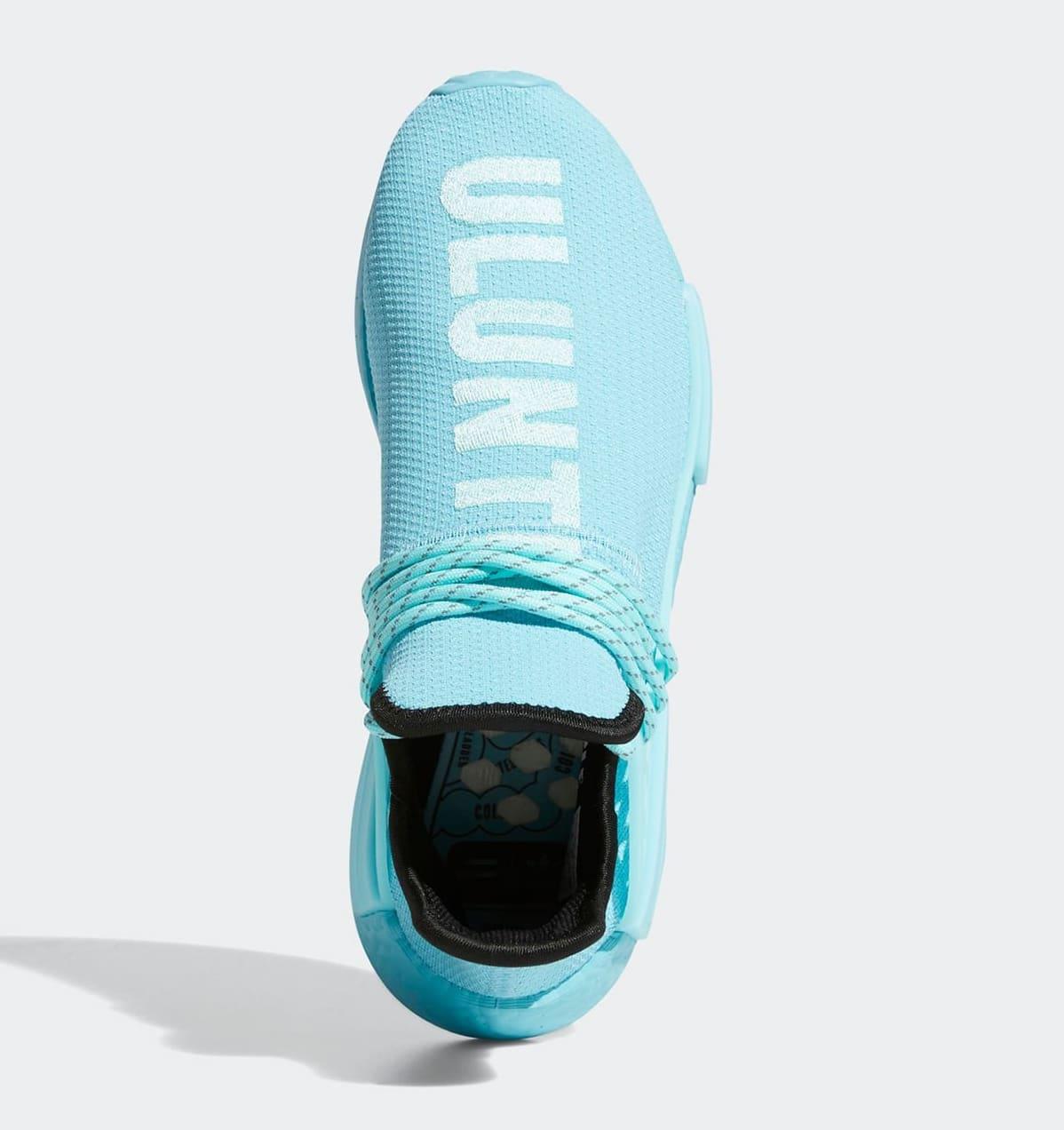 Pharrell Adidas NMD Hu 'Aqua' GY0094 Top