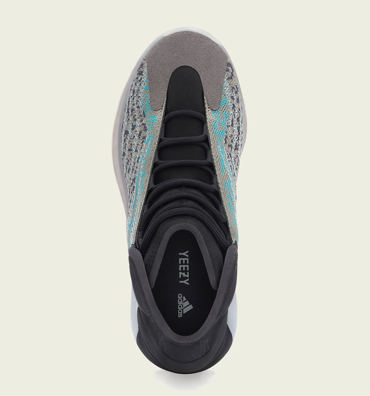 Adidas Yeezy QNTM 'Teal Blue' G58864 Top