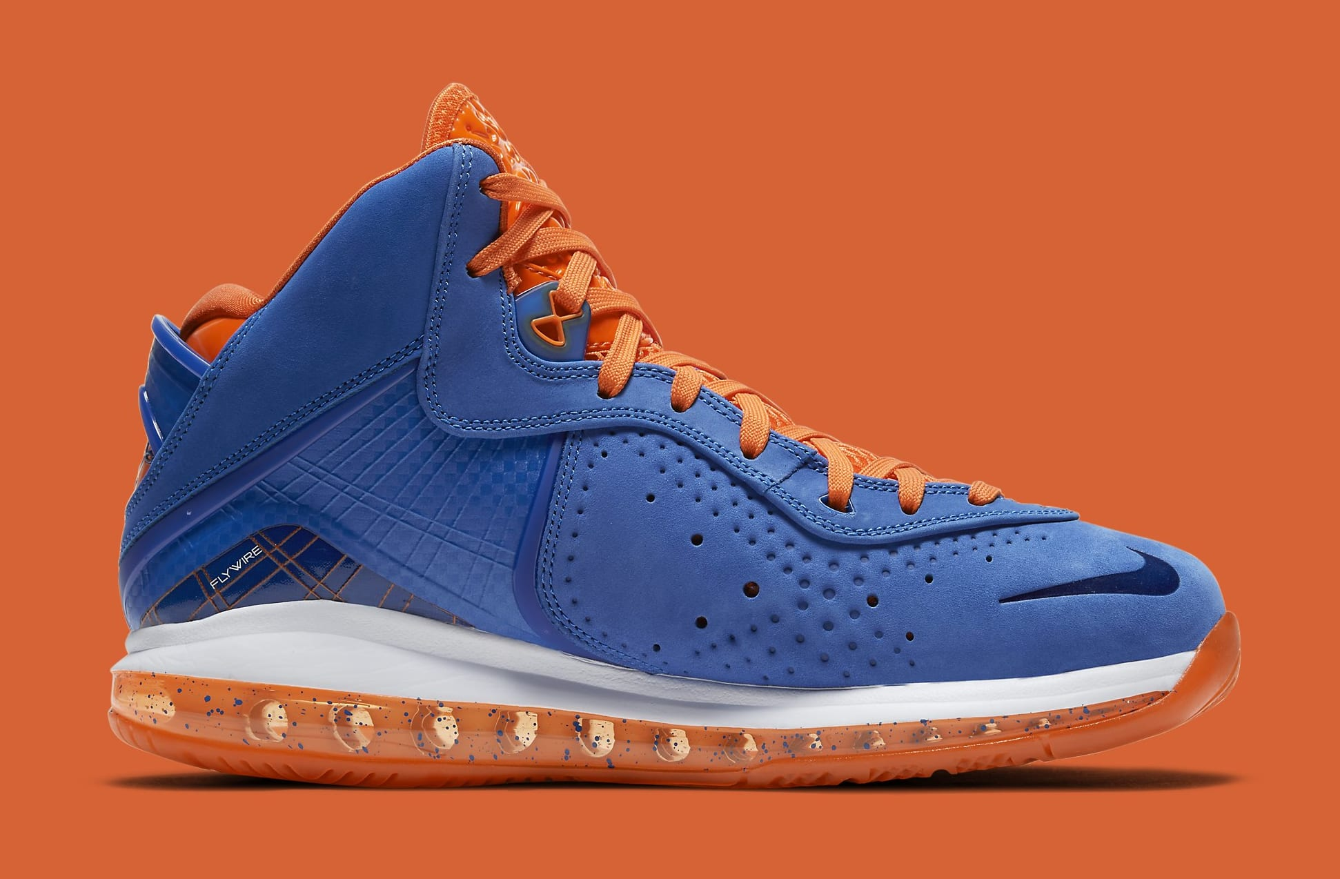 Nike LeBron 8 'HWC' CV1750-400 Medial