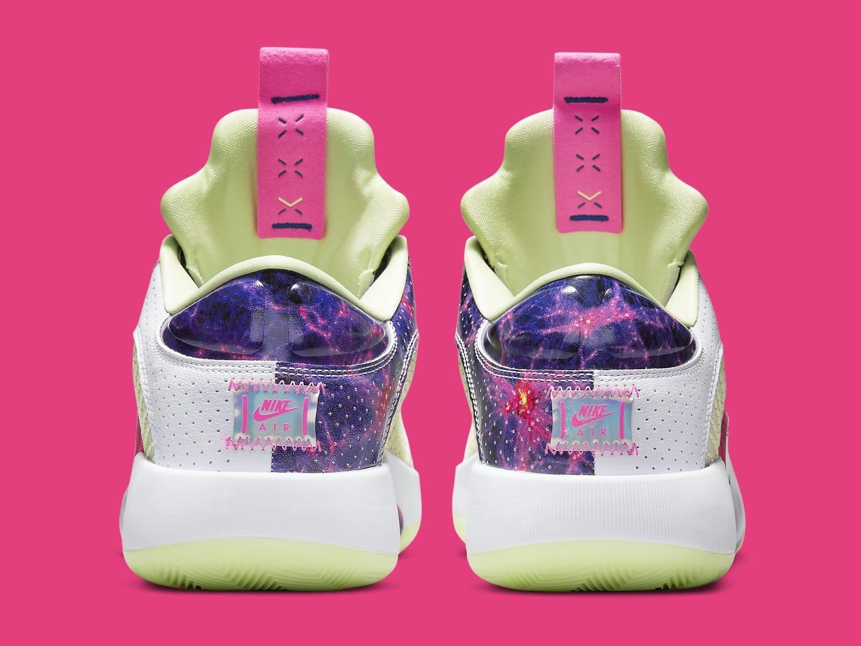 Air Jordan 35 XXXV Luke Doncic PE Release Date DJ9805-190 Heel