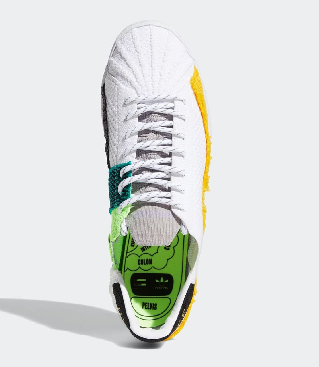 Pharrell Williams x Adidas Superstar White FY2294 Top