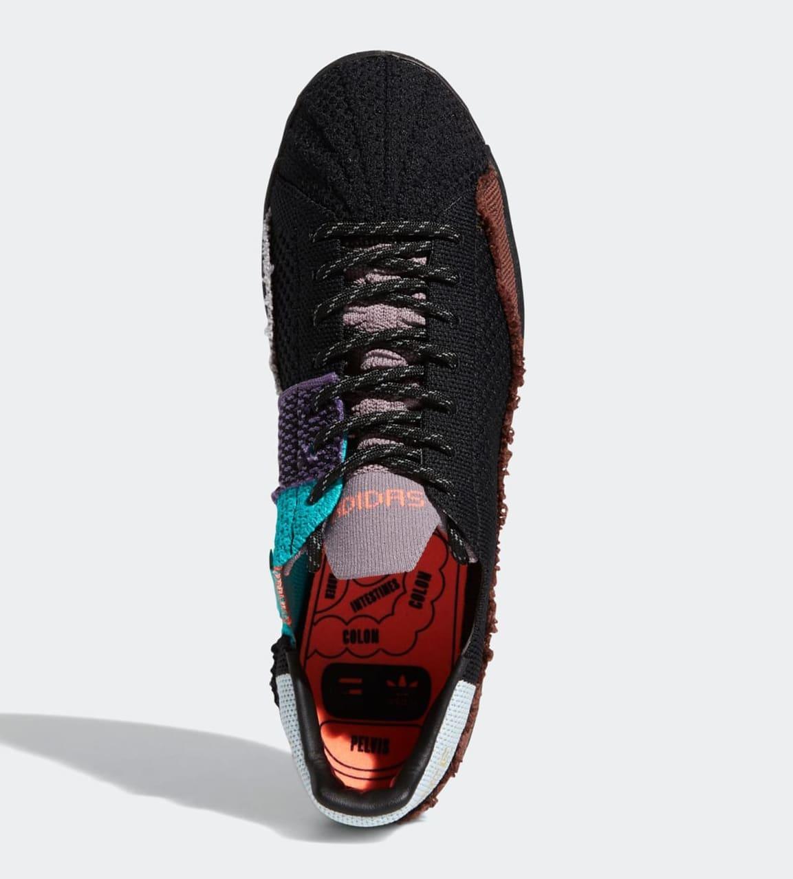 Pharrell Williams x Adidas Superstar Black FY1787 Top