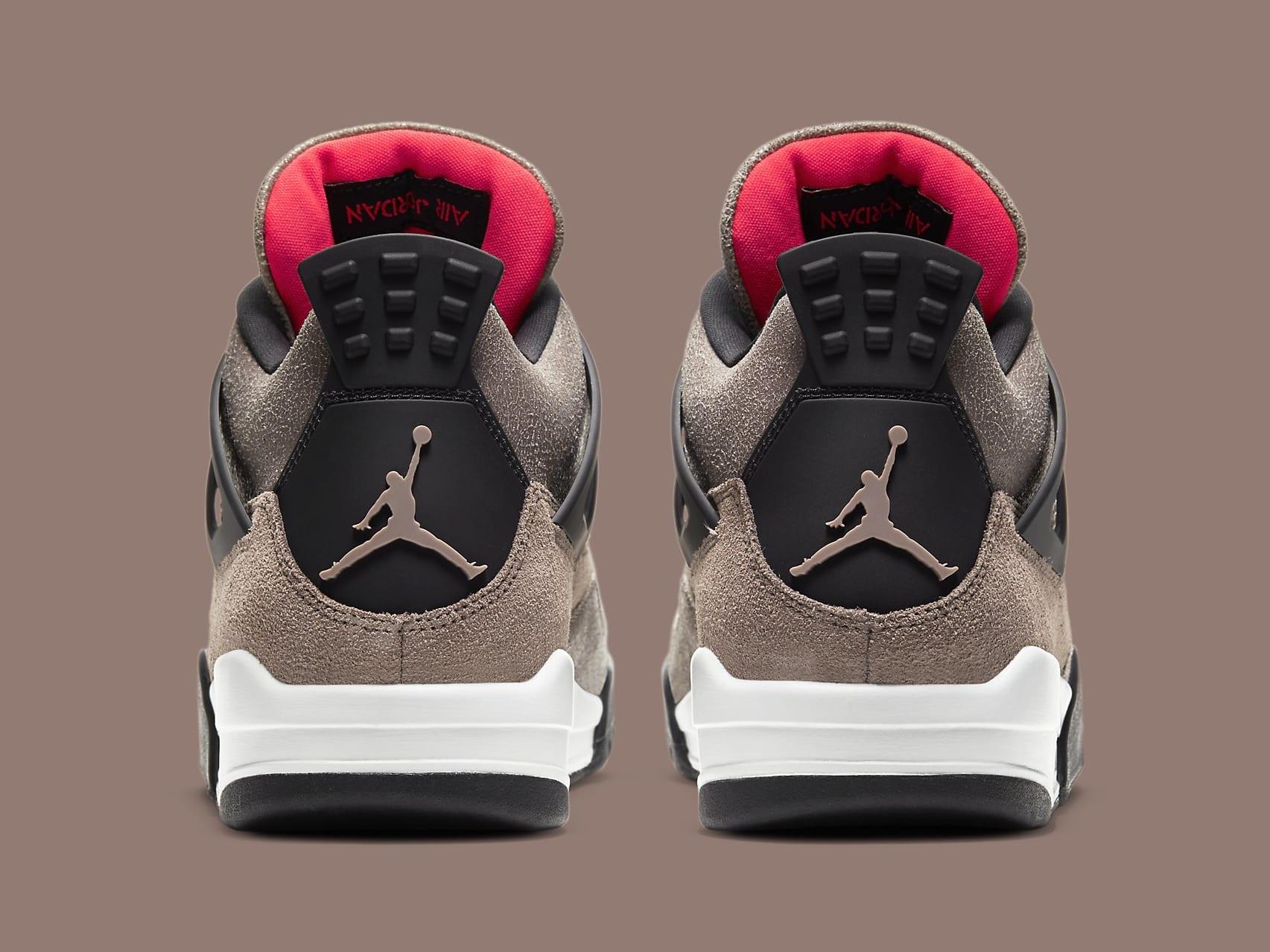 Air Jordan 4 IV Taupe Haze Release Date DB0732-200 Heel