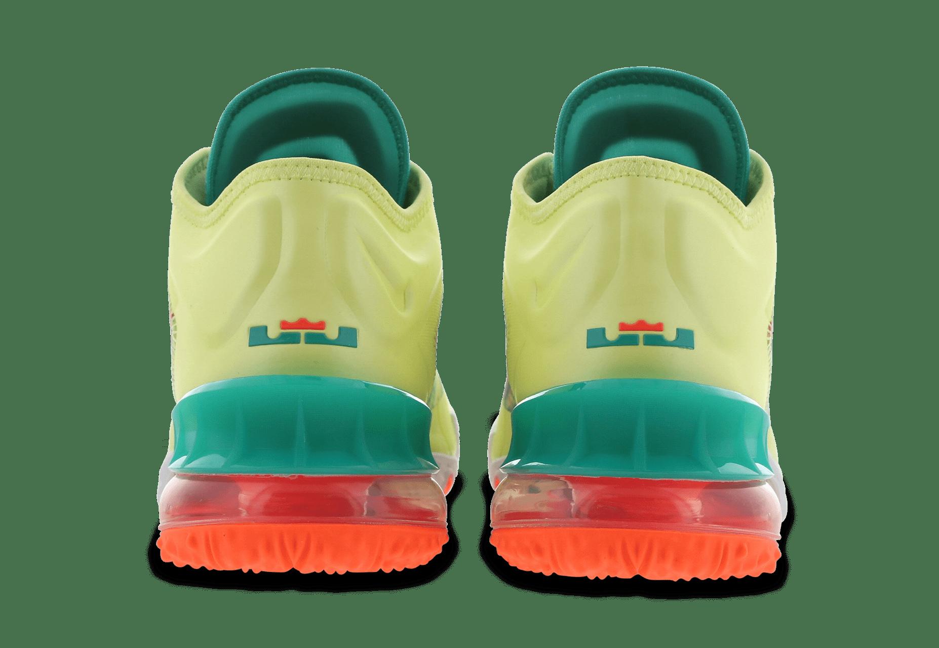 Nike LeBron 18 Low 'LeBronald Palmer' CV7562-300 Heel