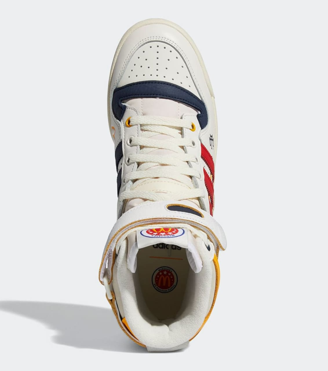 Eric Emanuel x Adidas Forum Hi 'McDonald's All-American' H02575 Top