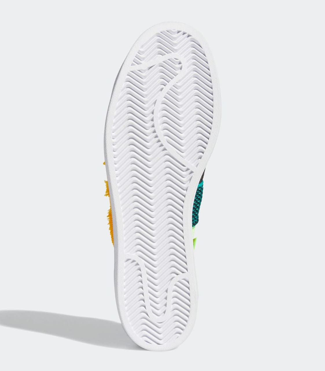Pharrell Williams x Adidas Superstar White FY2294 Outsole