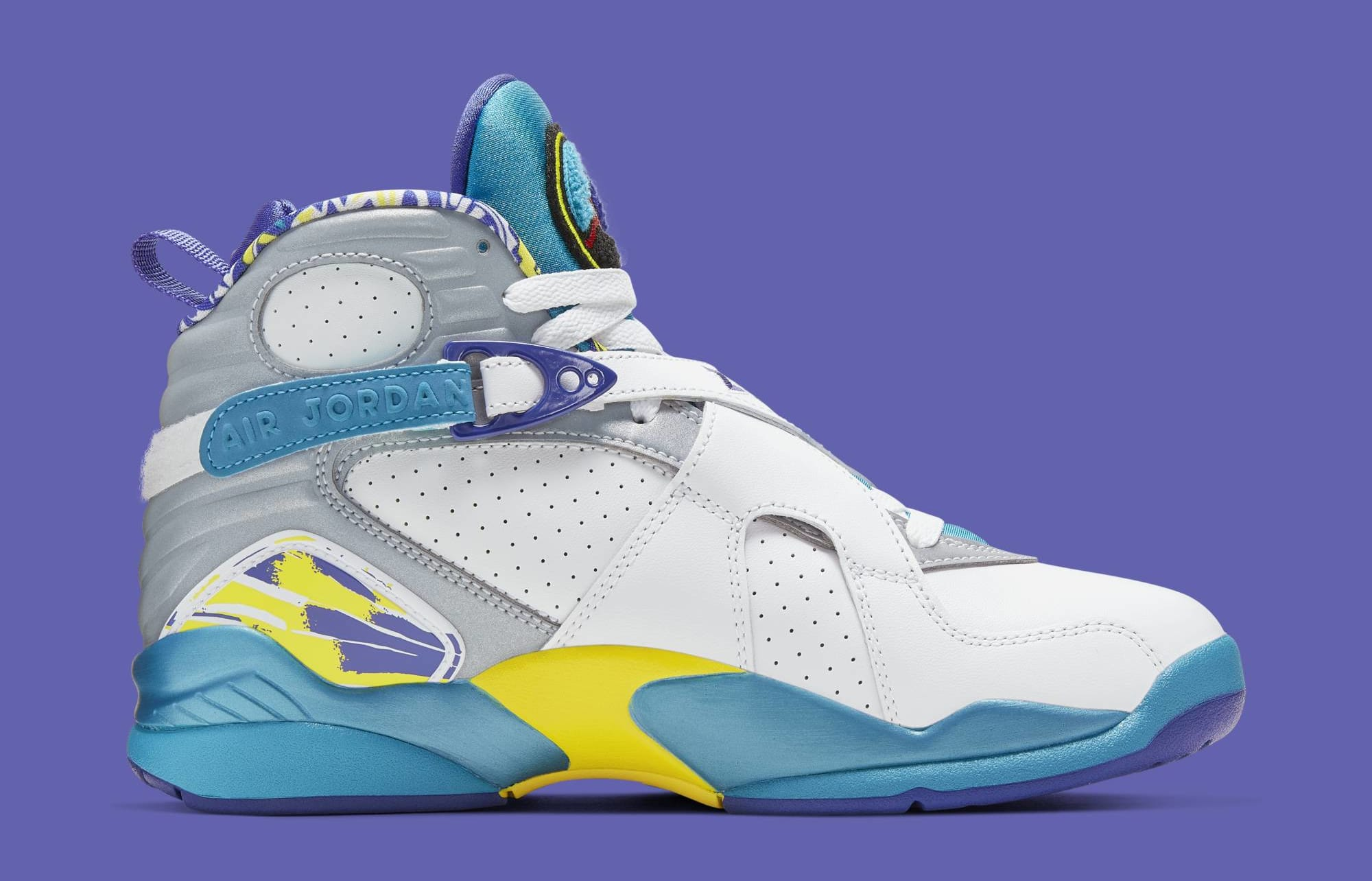 buy online 55c1f df7ae Air Jordan 8 Retro Women's 'Aqua' Release Date July 2019 ...