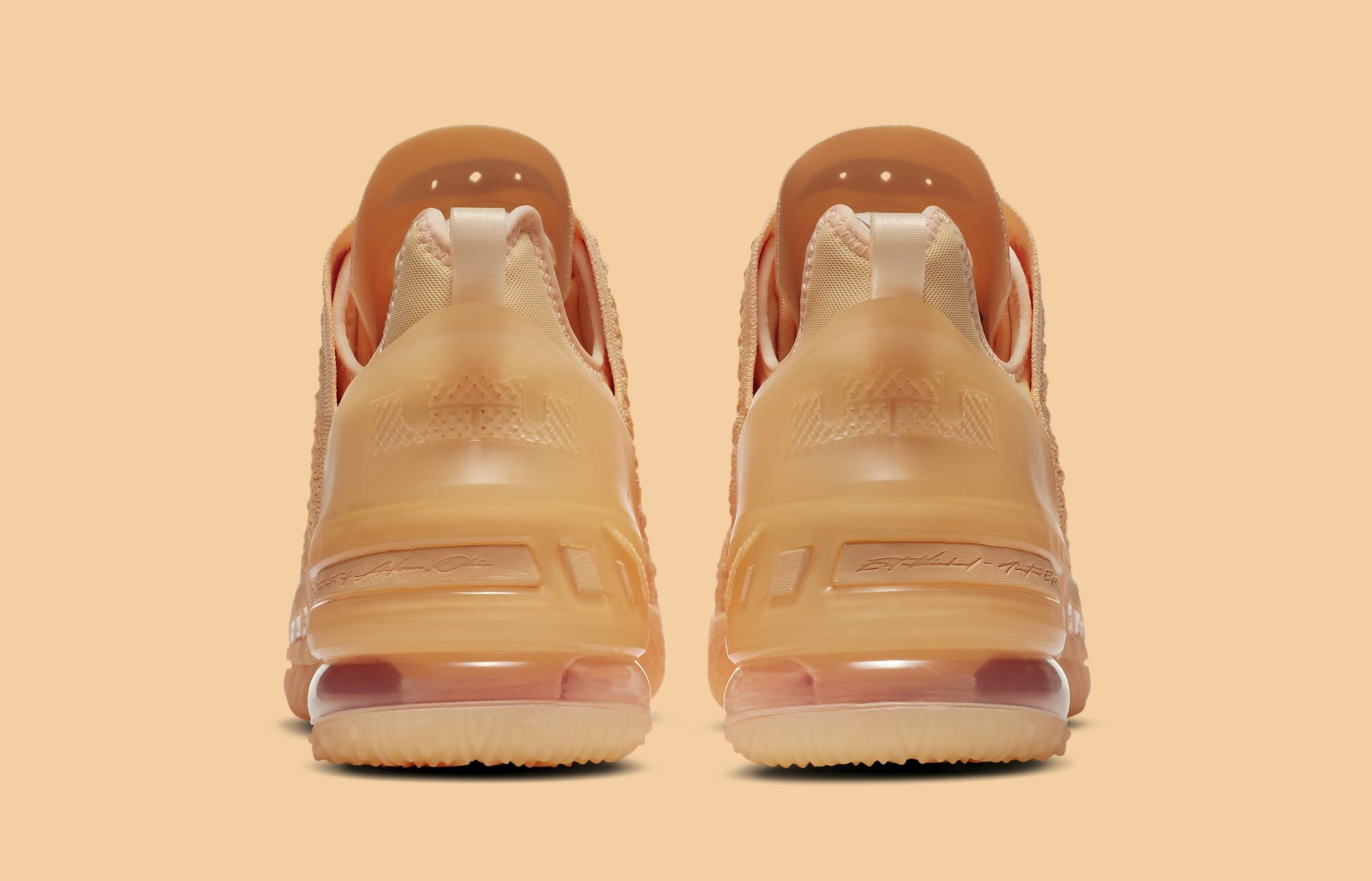 Nike LeBron 18 'Melon Tint' DB8148-801 Heel