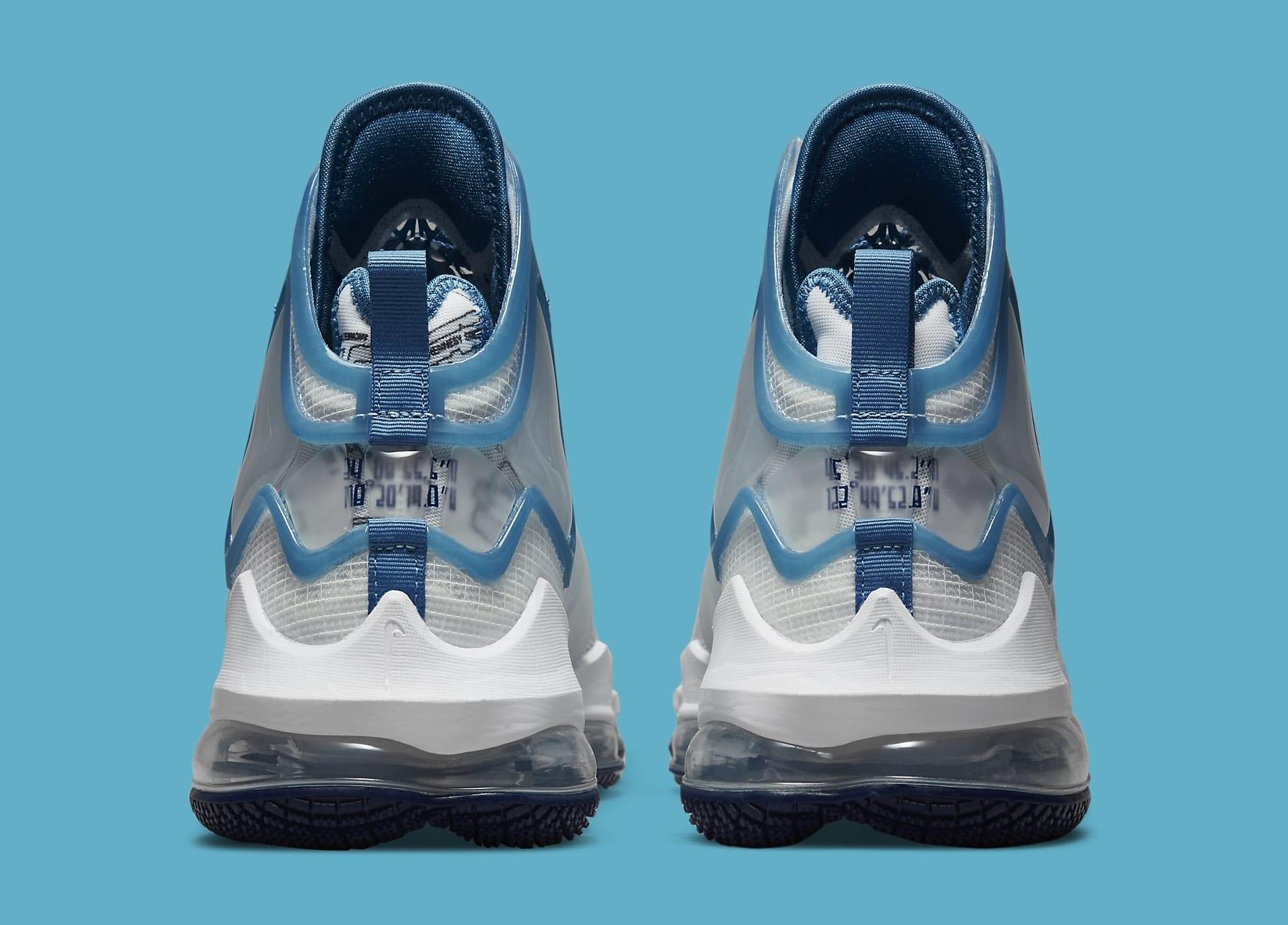 Nike LeBron 19 'Space Jam' DC9338-100 Heel