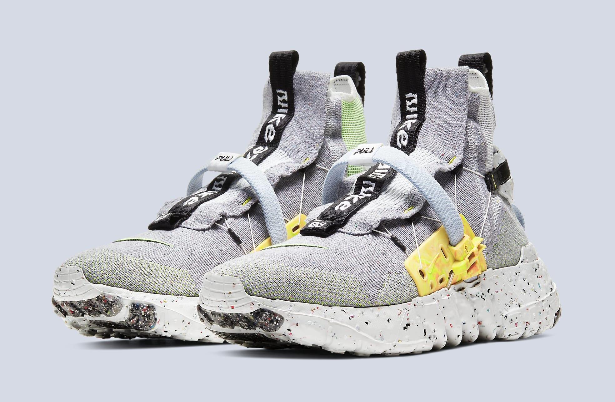Nike Space Hippie 03 'Grey/Volt' CQ3989-002 Pair