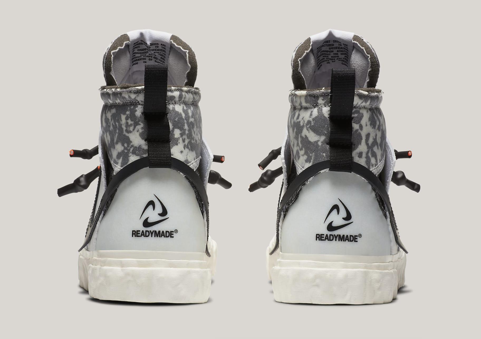 Readymade x Nike Blazer Mid CZ3589-100 Heel