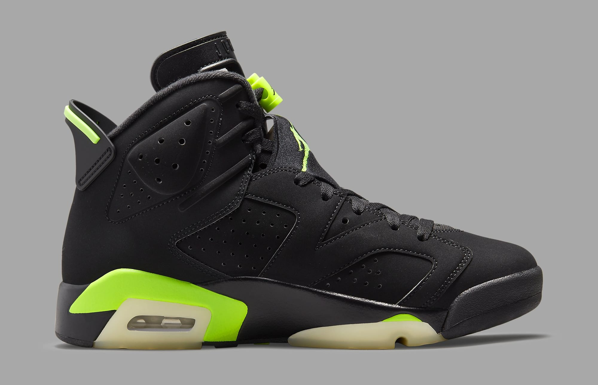 Air Jordan 6 Retro 'Electric Green' CT8529-003 Medial
