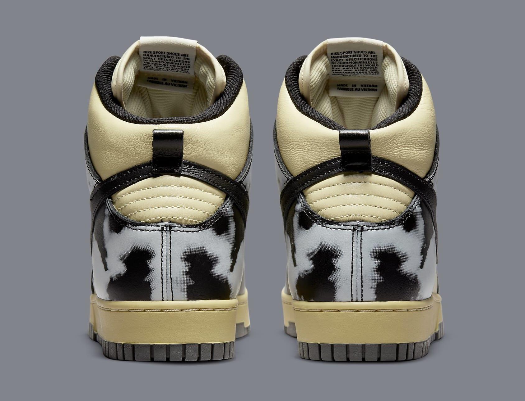 Nike Dunk High 'Acid Wash' DD9404-700 Heel