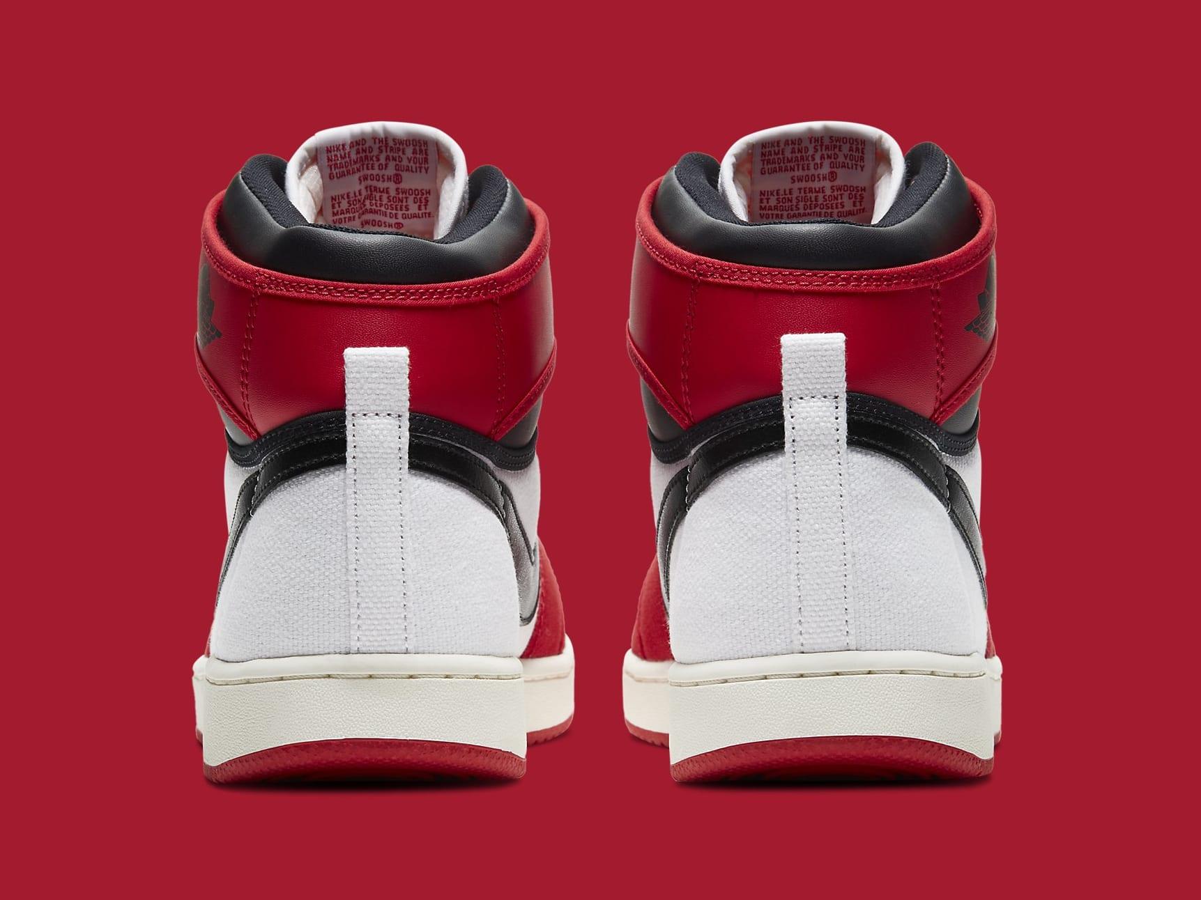 Air Jordan 1 KO Chicago 2021 Release Date DA9089-100 Heel