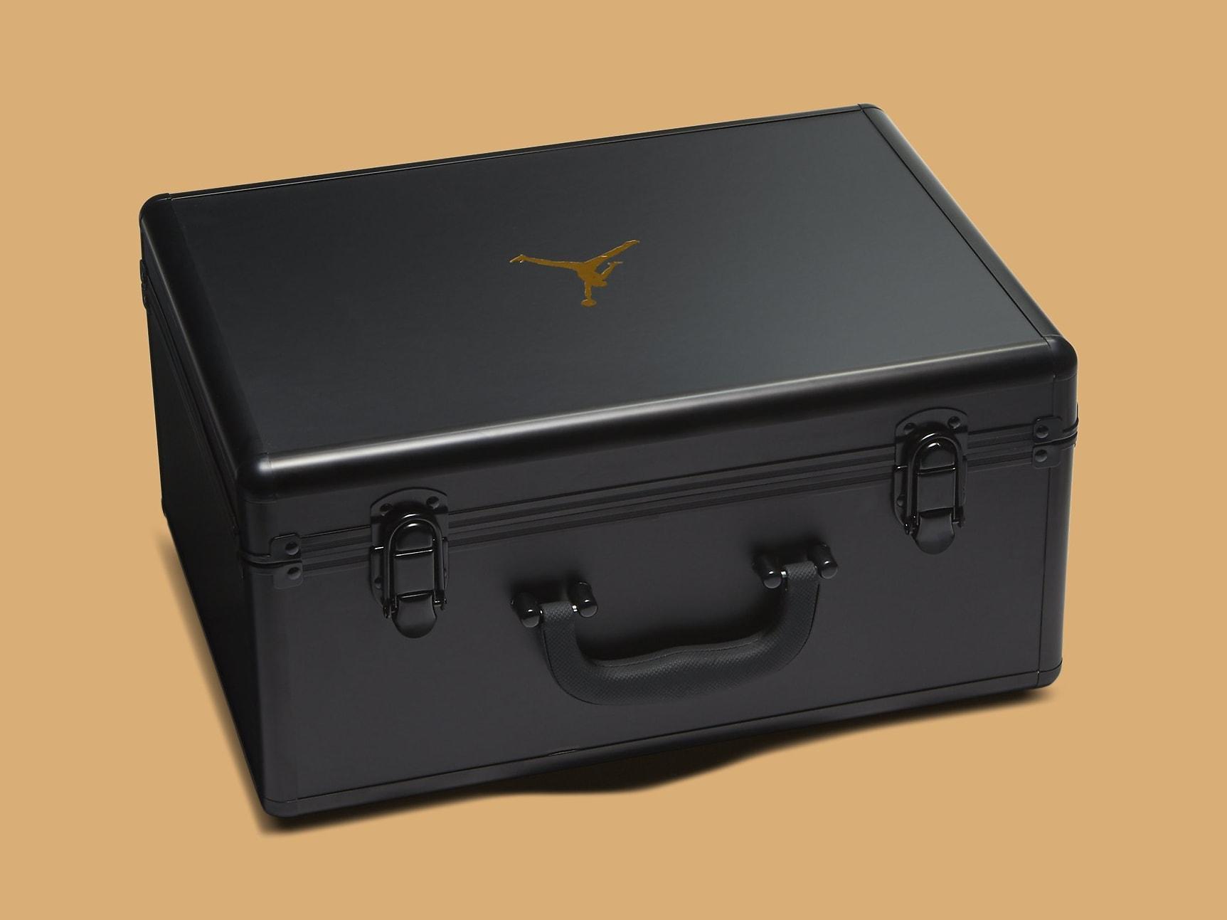 Jordan AJNT 23 Black Gold Release Date CI5441-008 Case