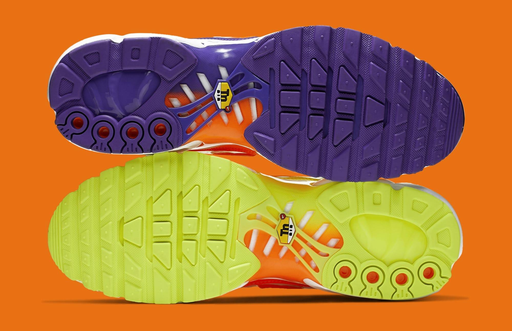 5f8c248abe Image via Nike Nike Air Max Plus 'Color Flip/White' CI5925-531 (Bottom)