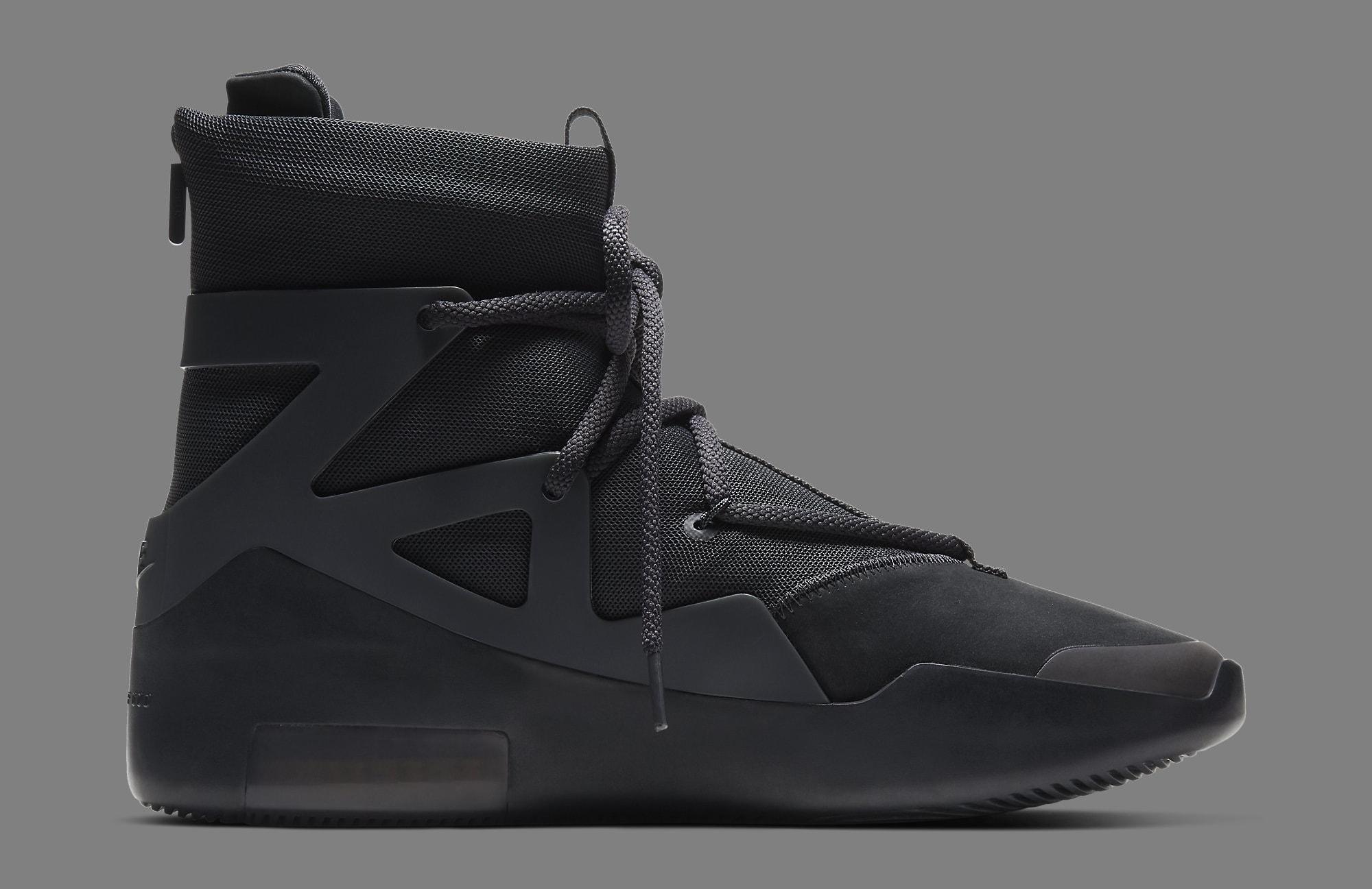 Nike Air Fear of God 1 'Triple Black' AR4237-005 Medial