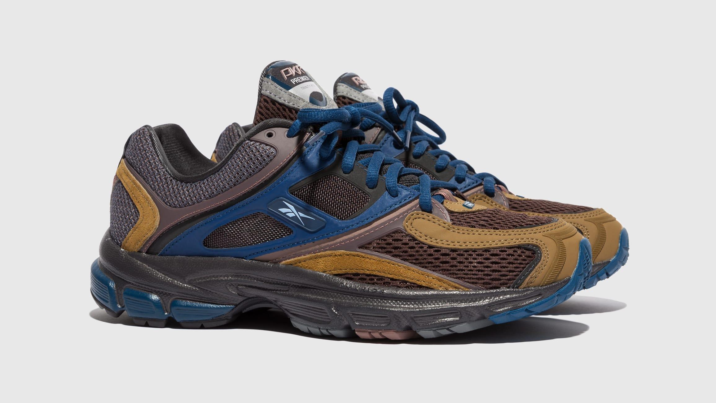 Packer Shoes x Reebok Trinity Premier Brown FY3408 Pair
