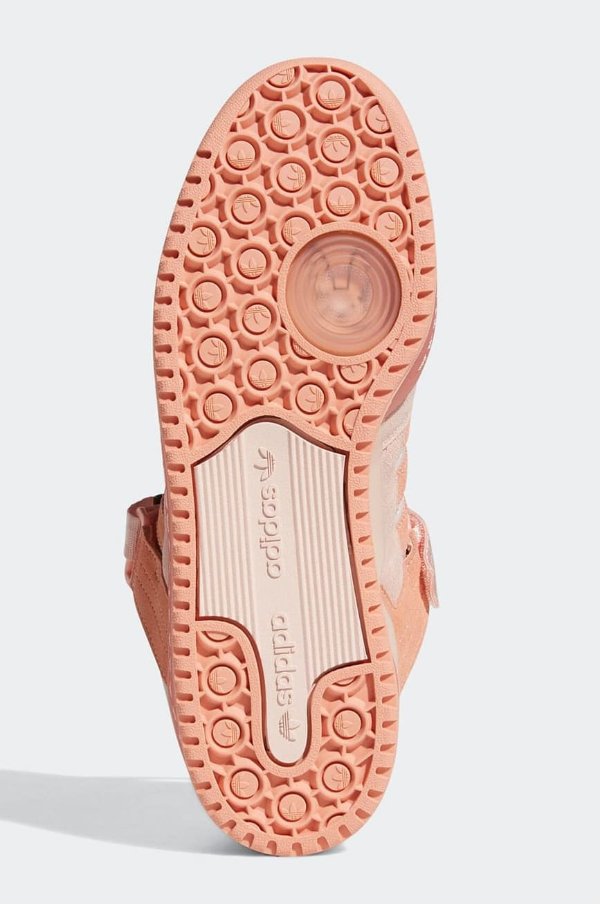 Bad Bunny x Adidas Forum Buckle Low Pink GW0265 Outsole