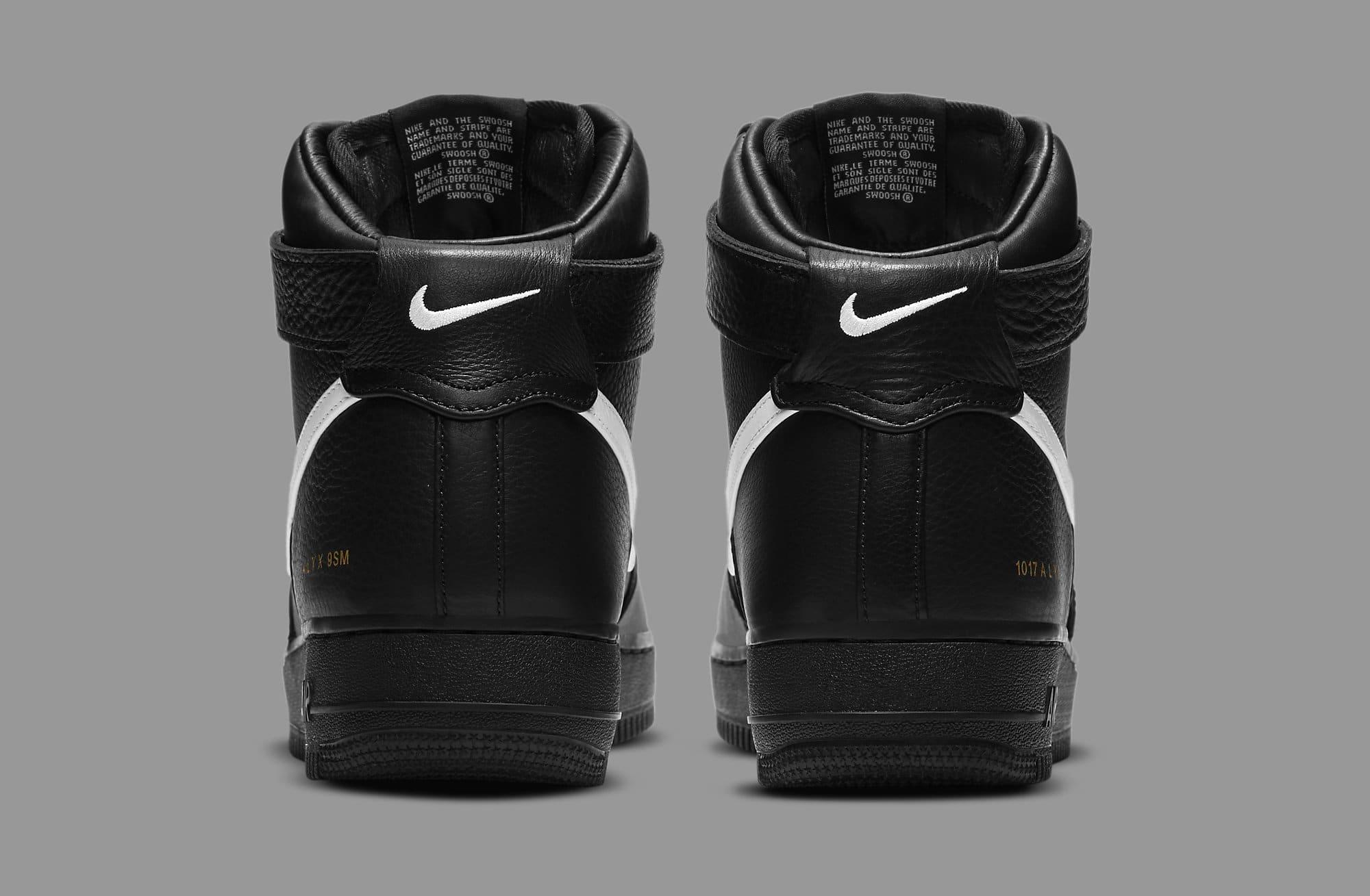 Alyx x Nike Air Force 1 High CQ4018-002 Heel
