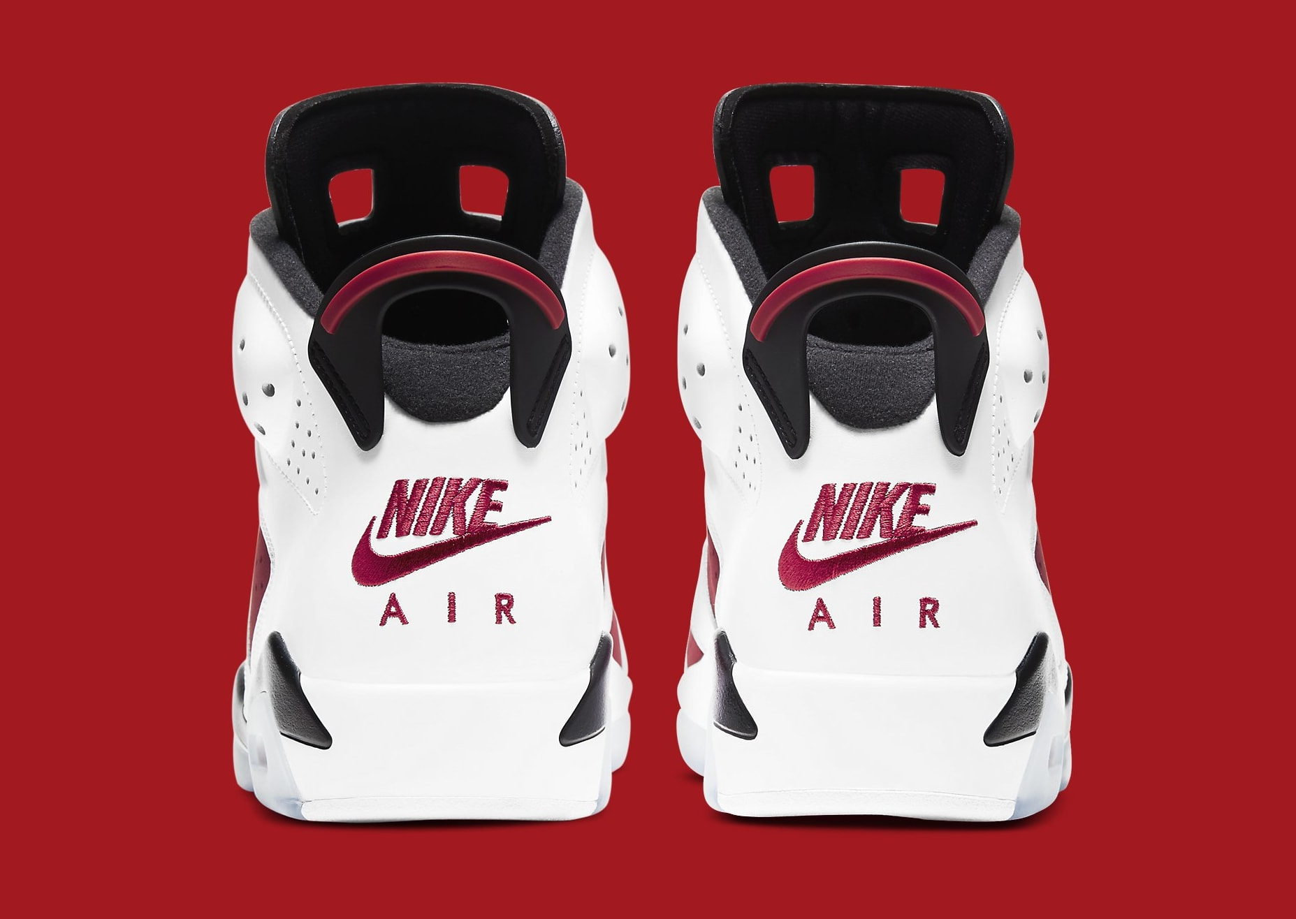 Air Jordan 6 Retro 'Carmine' 2021 CT8529-106 Heel