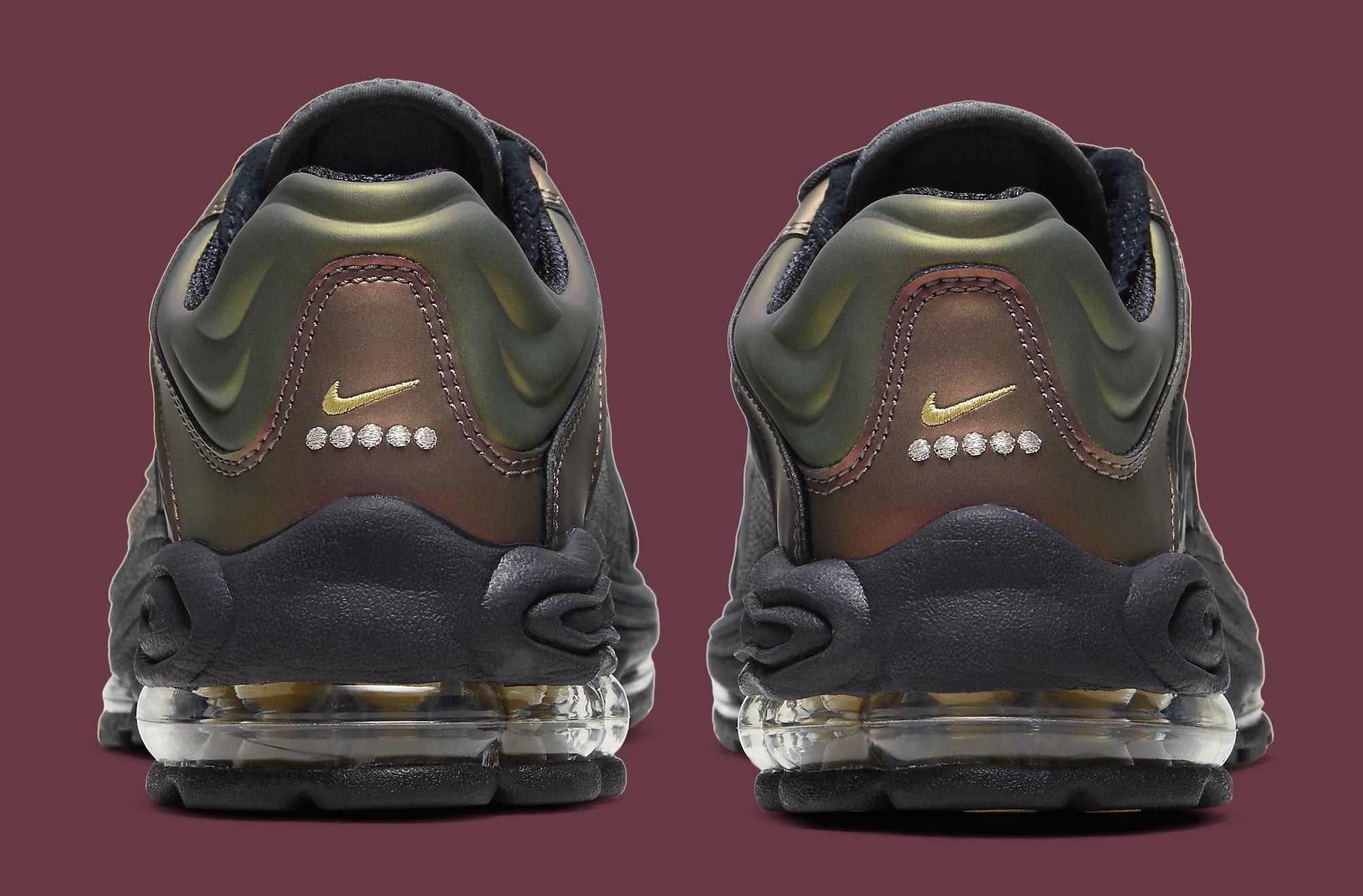 Nike Air Tuned Max Black/Celery/Dark Charcoal CV6984-001 Heel