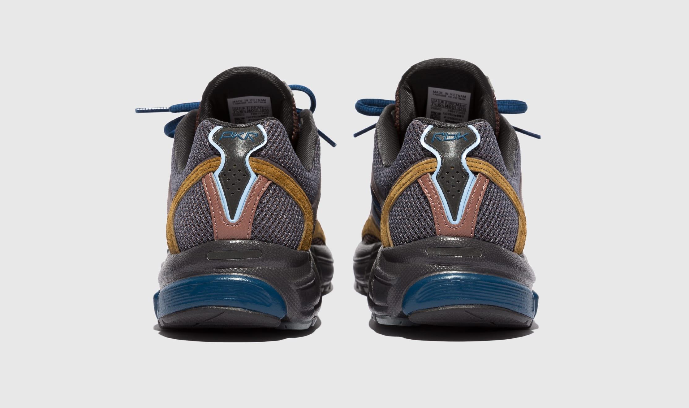 Packer Shoes x Reebok Trinity Premier Brown FY3408 Heel