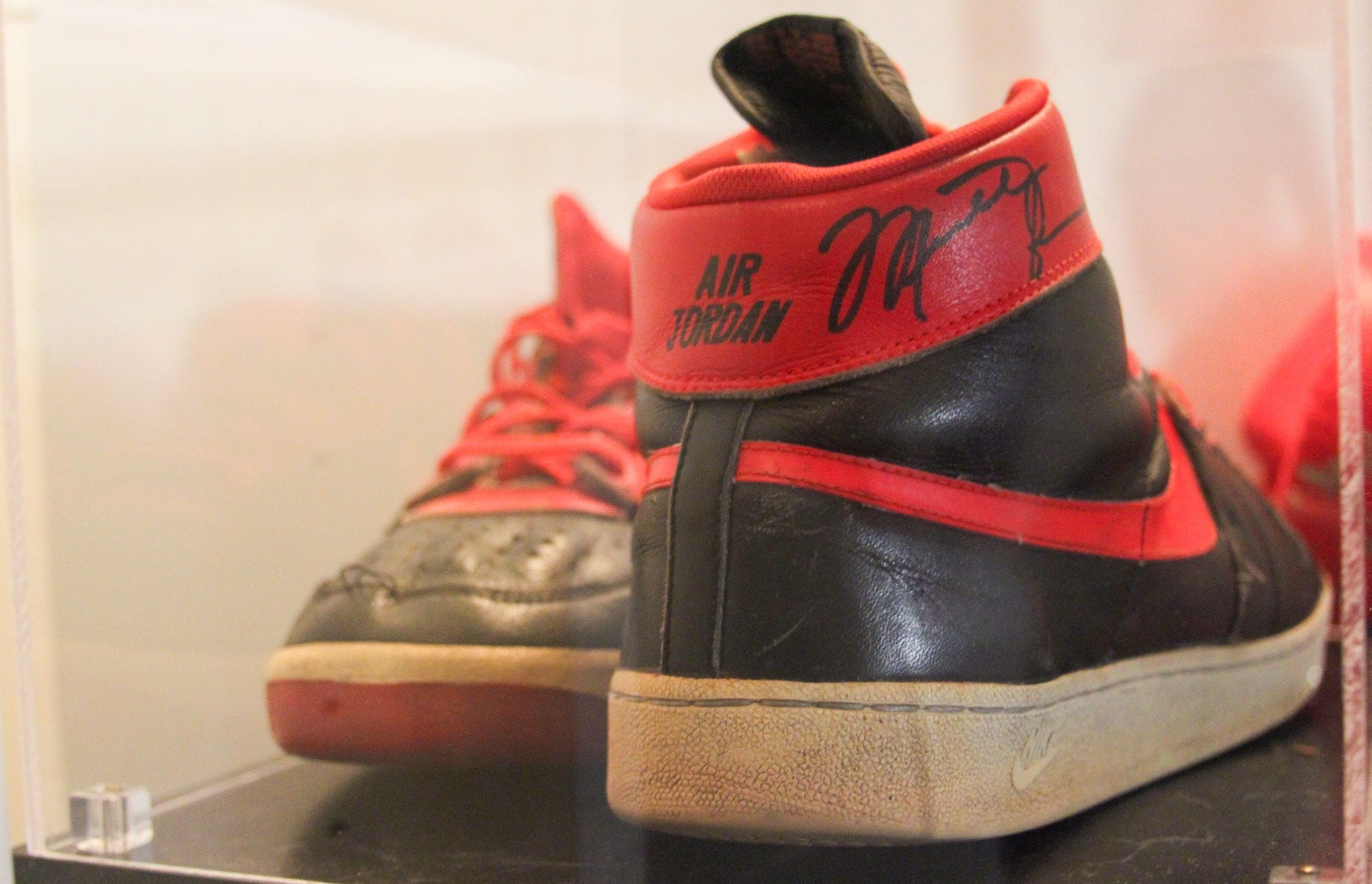 Michael Jordan Nike Air Ship PE Heel