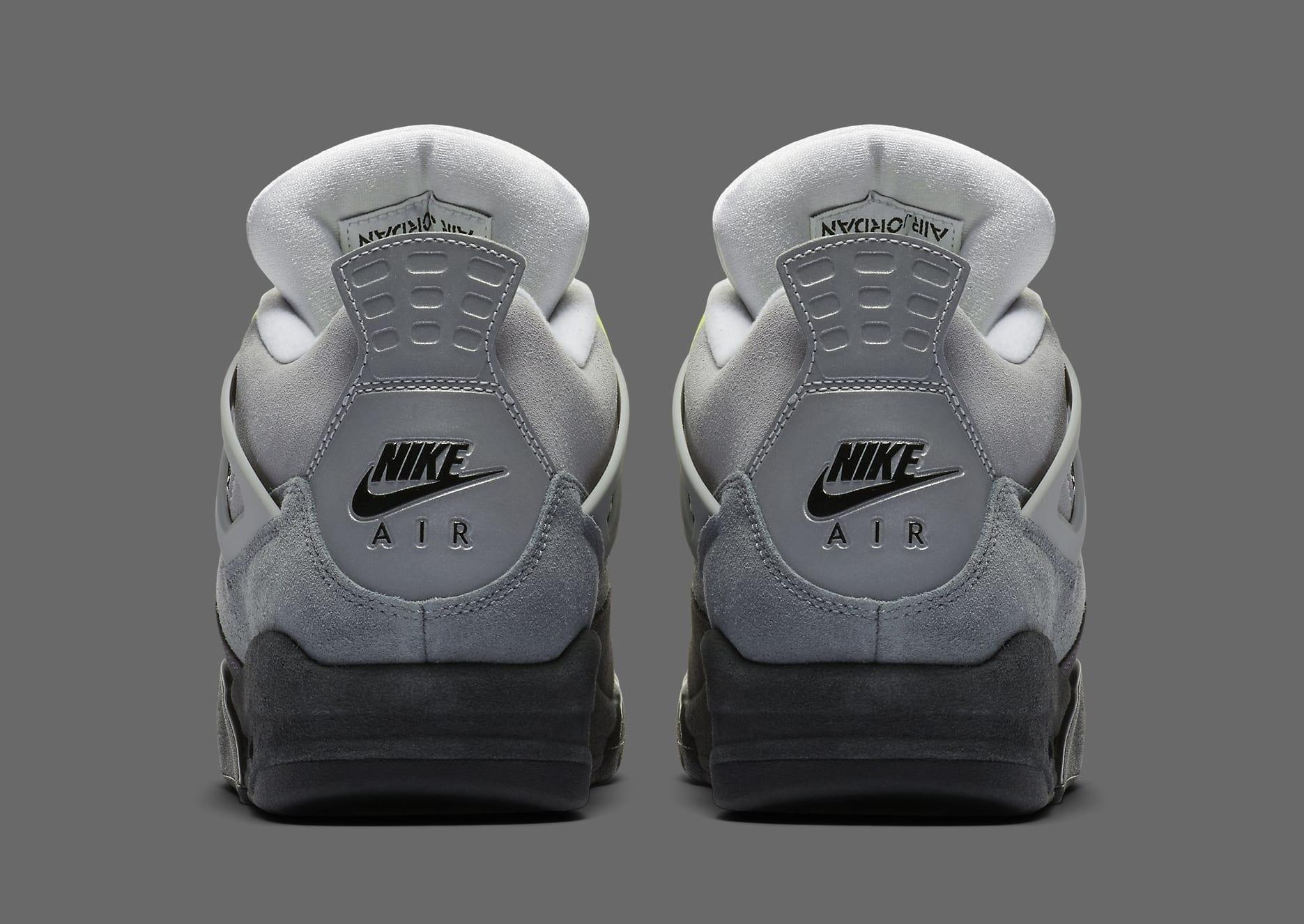 Air Jordan 4 Retro 'Neon' CT5342-007 Heel