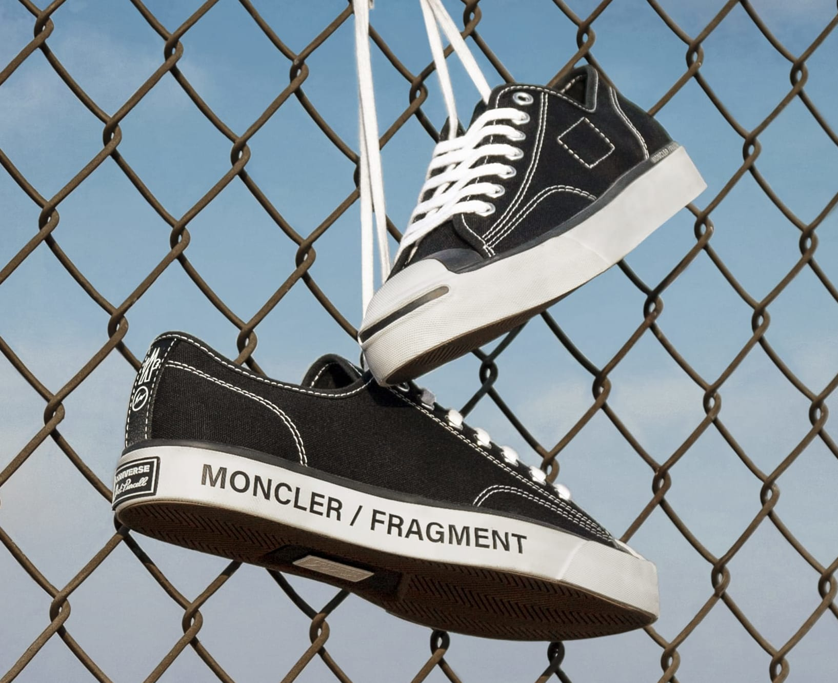 Fragment x Moncler x Converse Jack Purcell