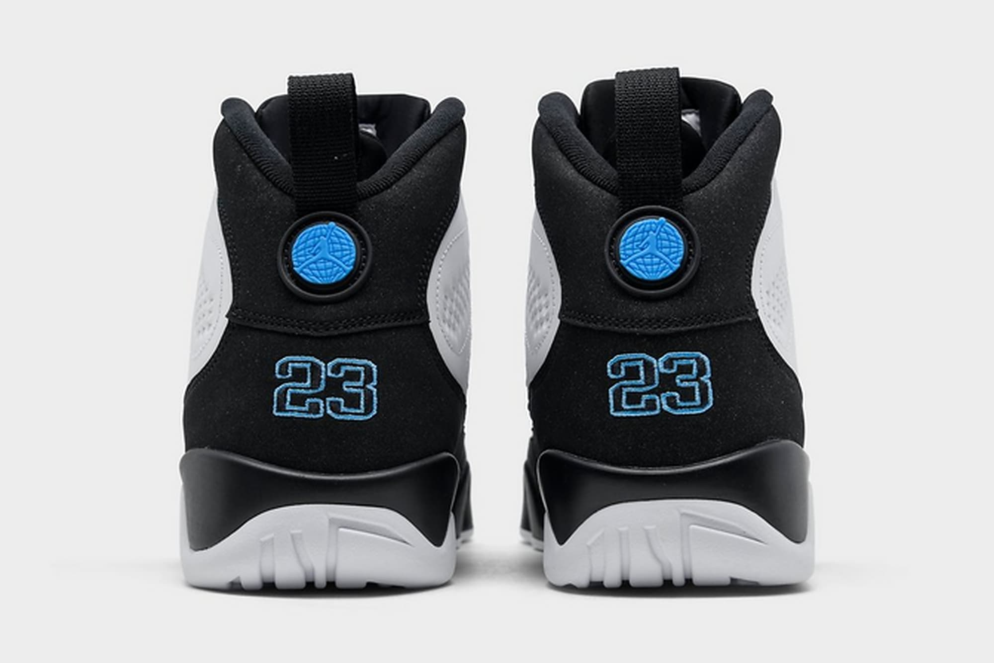 Air Jordan 9 Retro 'University Blue' CT8019-140 Heel