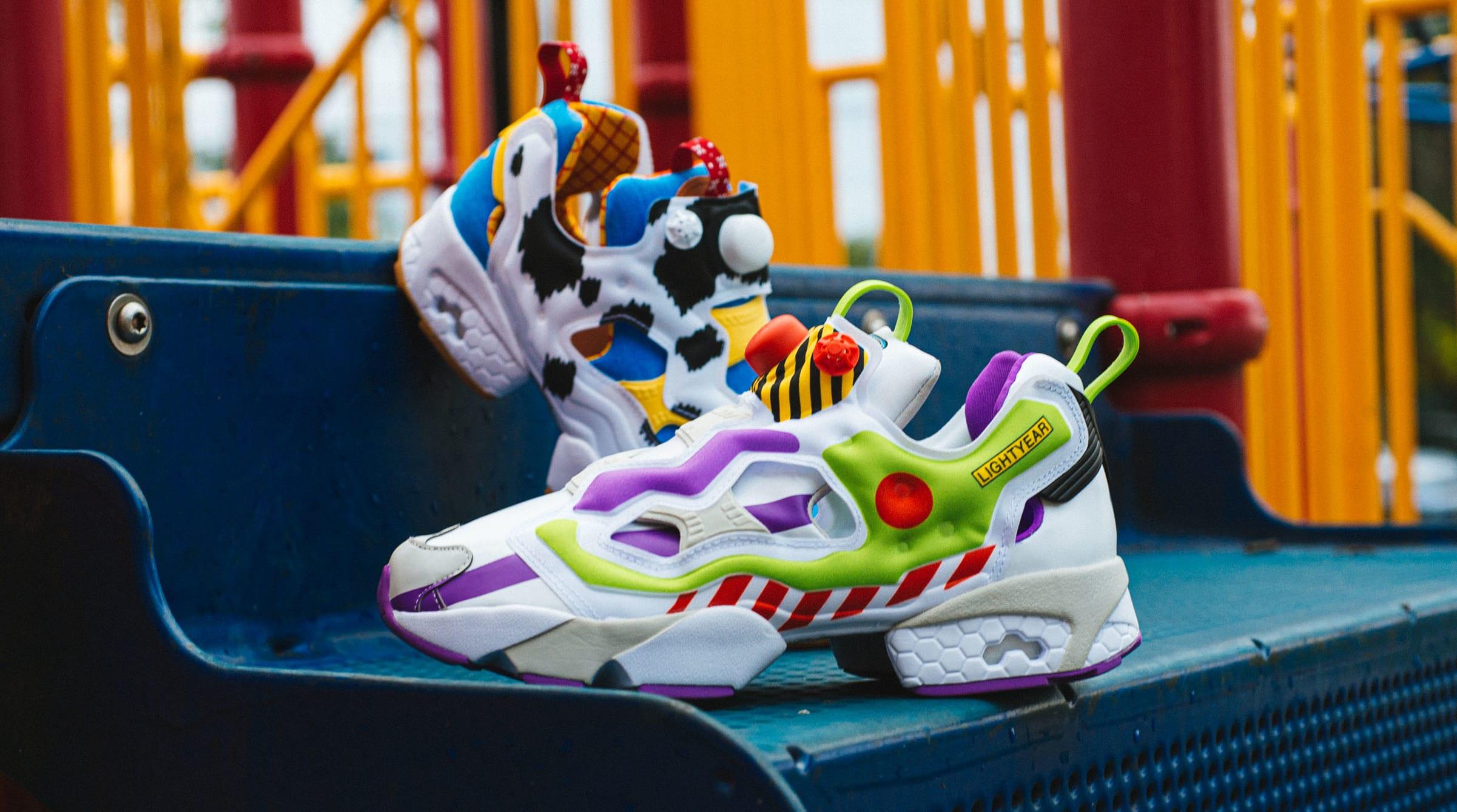 Bait x Disney Toy Story x Reebok Instapump Fury
