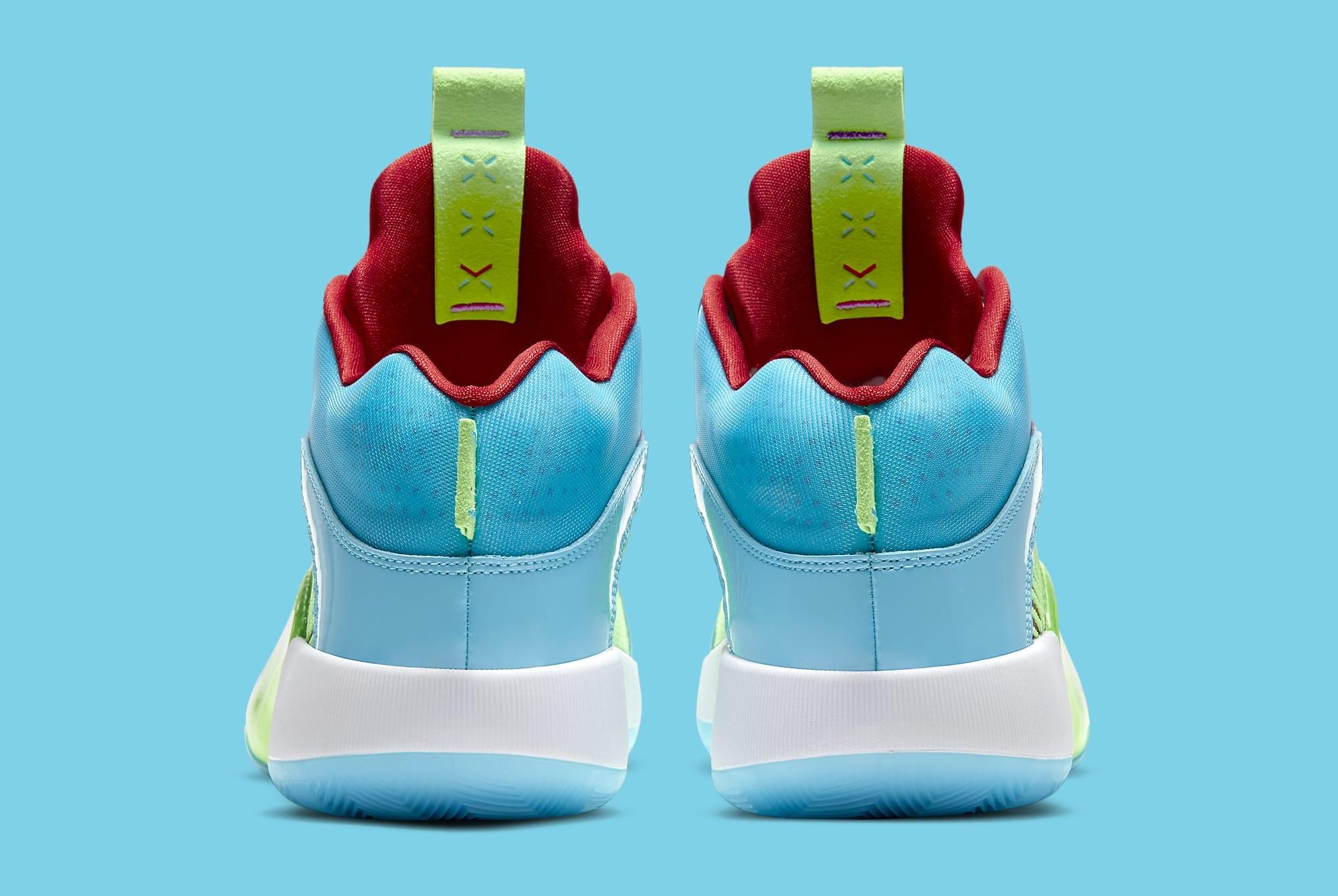 Jayson Tatum Air Jordan 35 PE 'Greatest Gift' DD3669-400 Heel