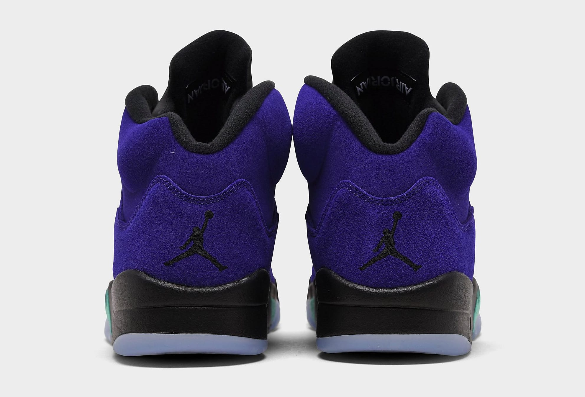 Air Jordan 5 Retro 'Alternate Grape' 136027-500 Heel