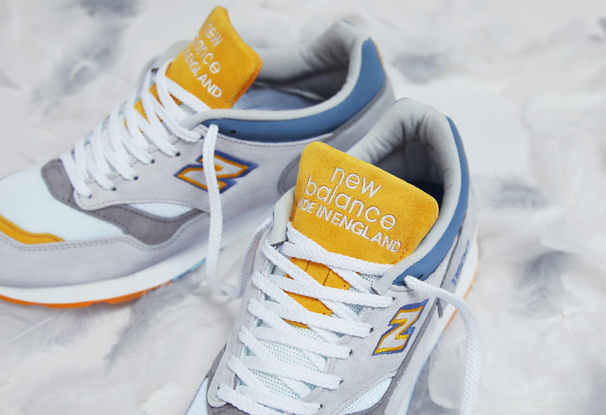 End Clothing x New Balance 1500 'Grey Heron' Tongue