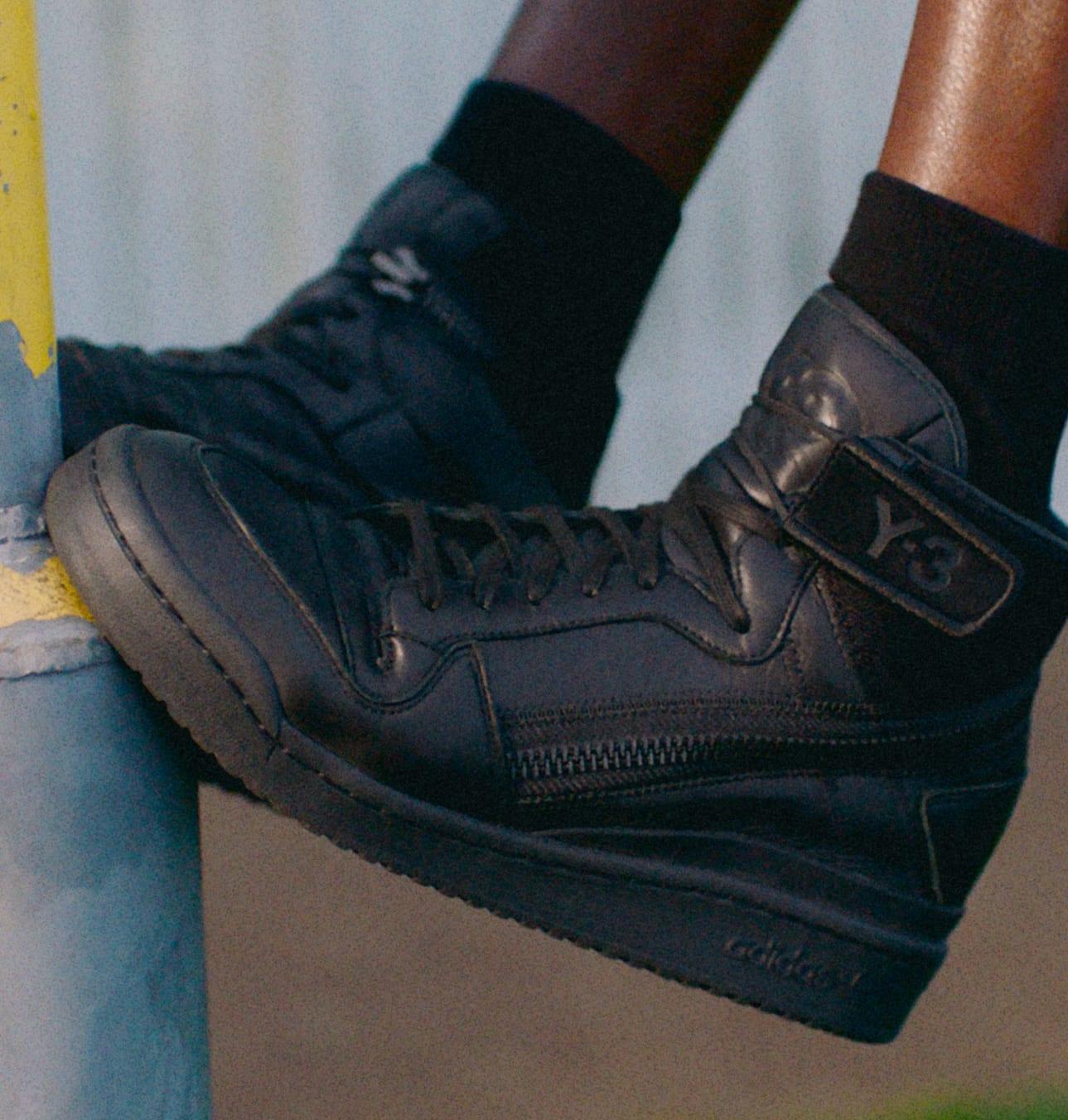 Adidas Y-3 Forum Hi OG GZ8795 On-Feet