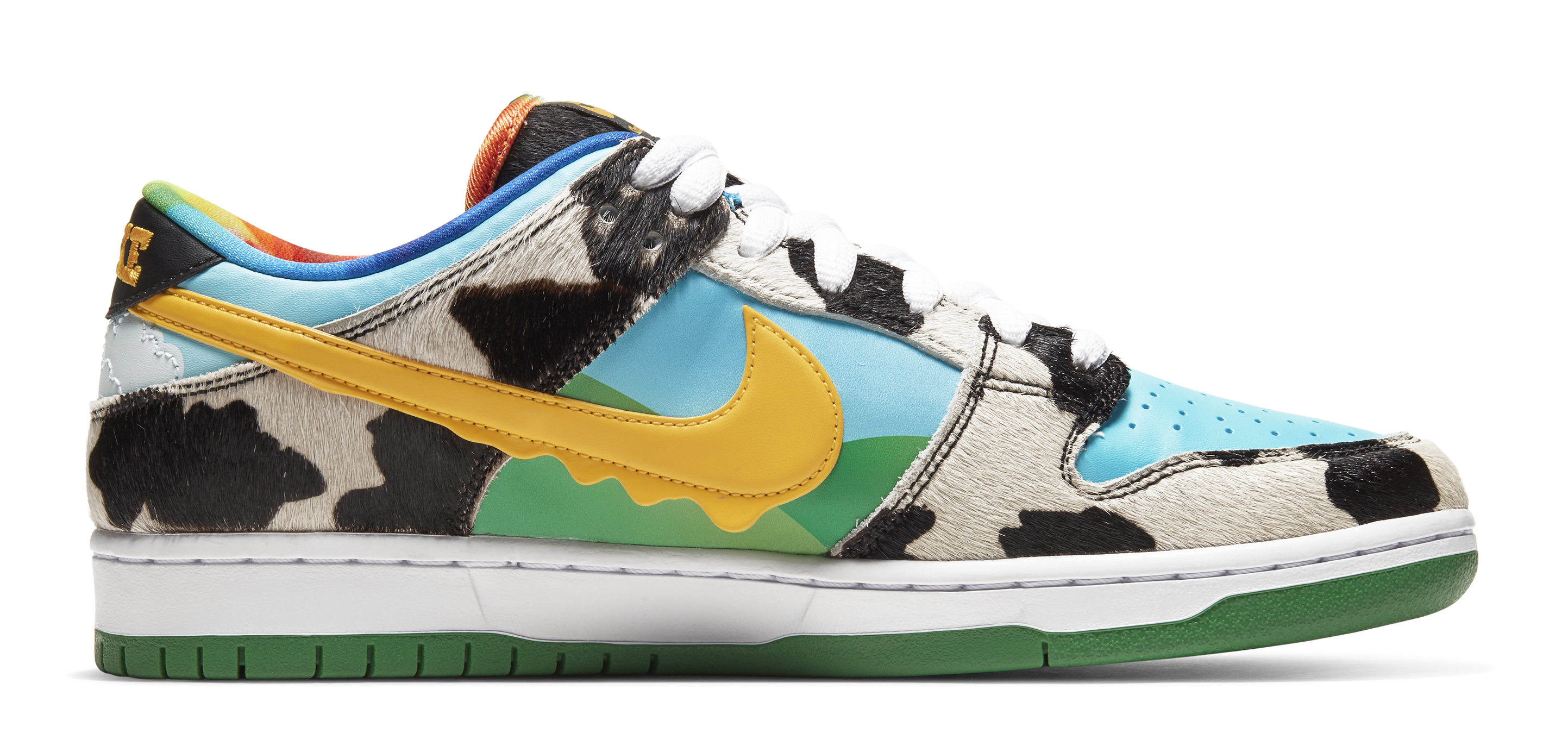 Ben and Jerry's x Nike SB Dunk Low 'Chunky Dunky' CU3244-100 (Medial)