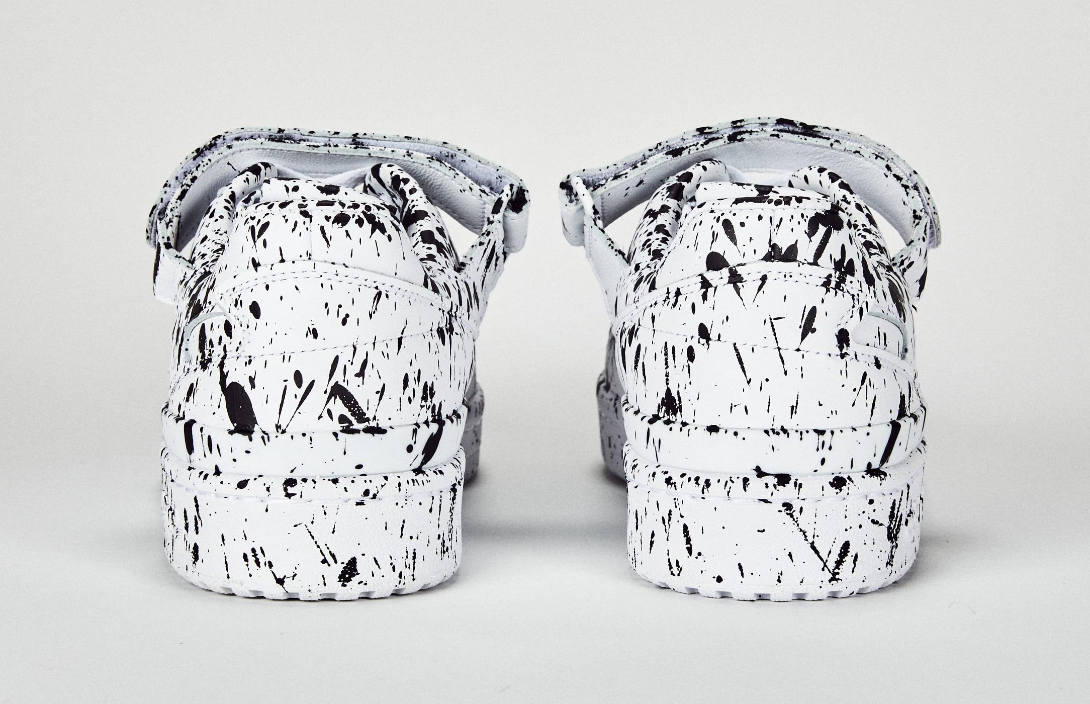Lucien Smith Adidas Forum Low Custom Heel